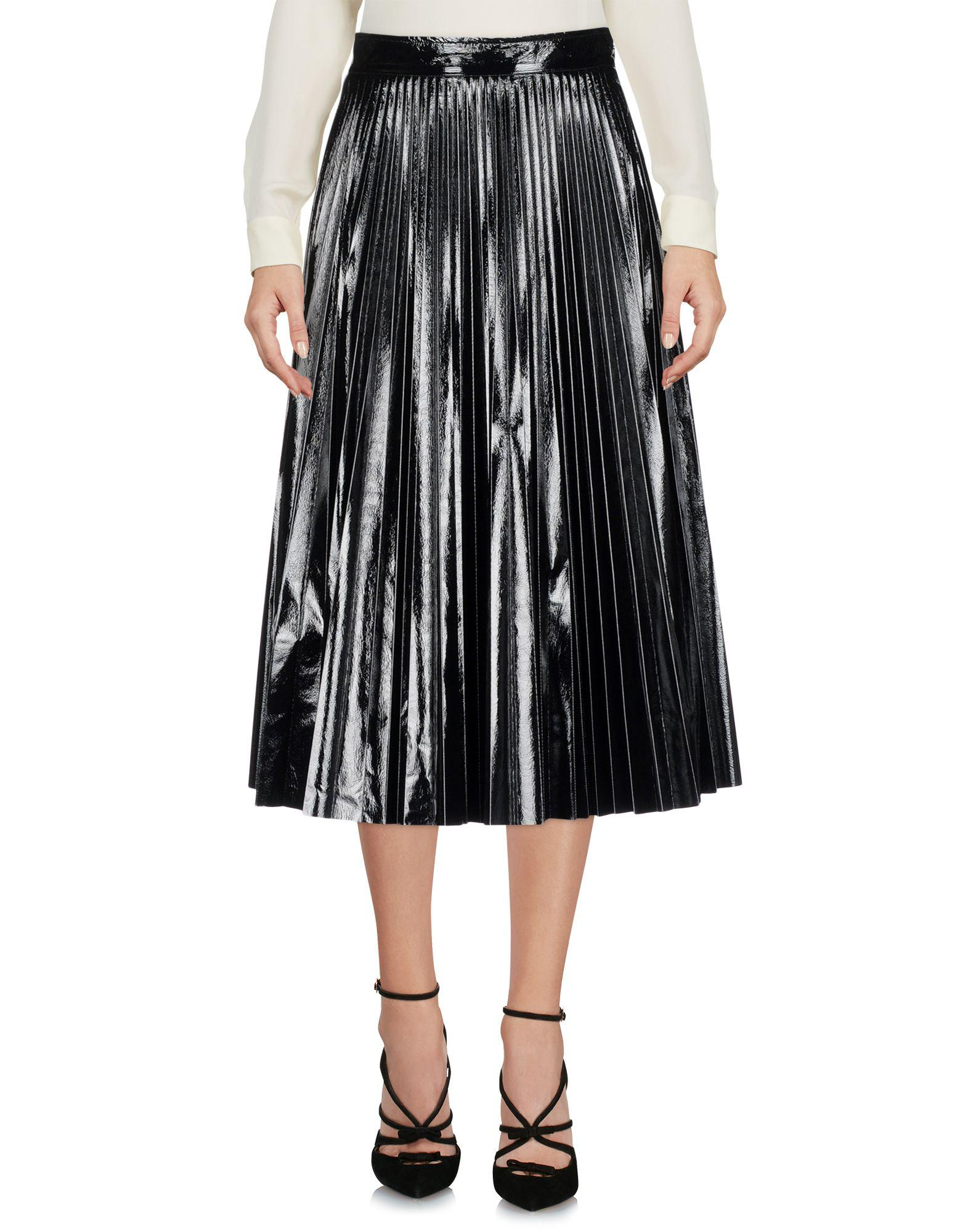 765655bbf Amen 3/4 Length Skirt in Black - Lyst