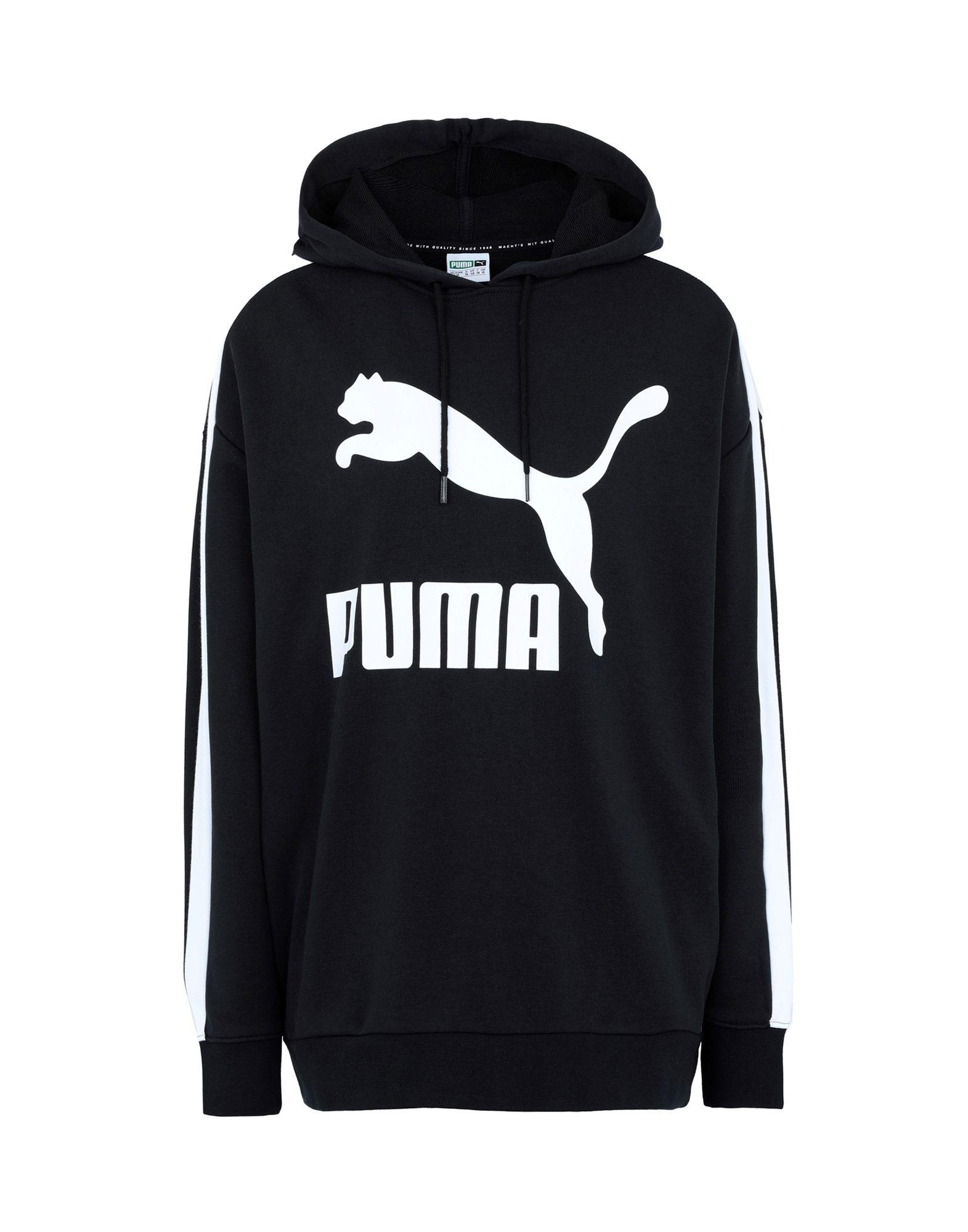 717e7fd992 PUMA - Black Sweatshirt - Lyst. View fullscreen