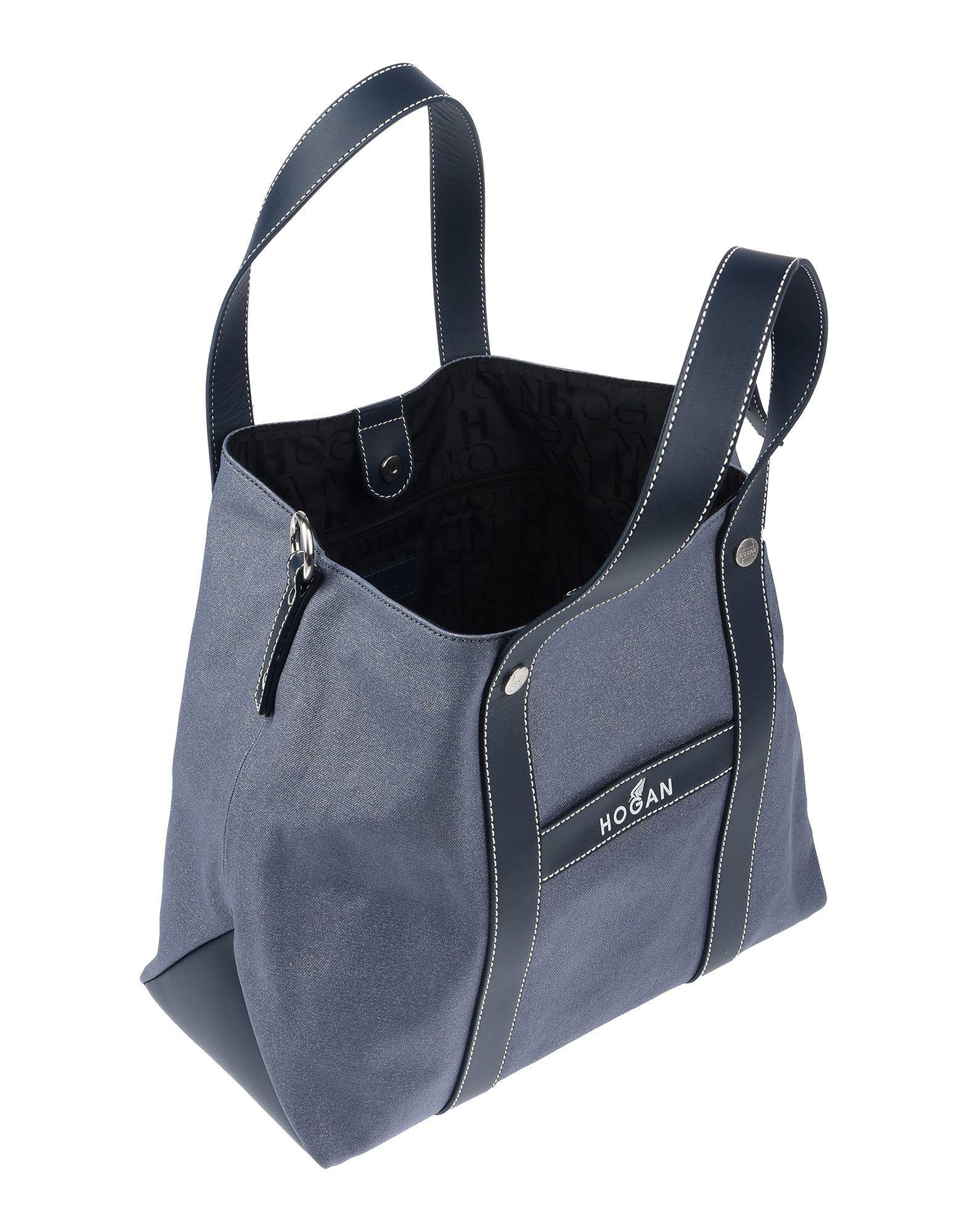 6a855979f4 Lyst - Hogan Handbag in Blue