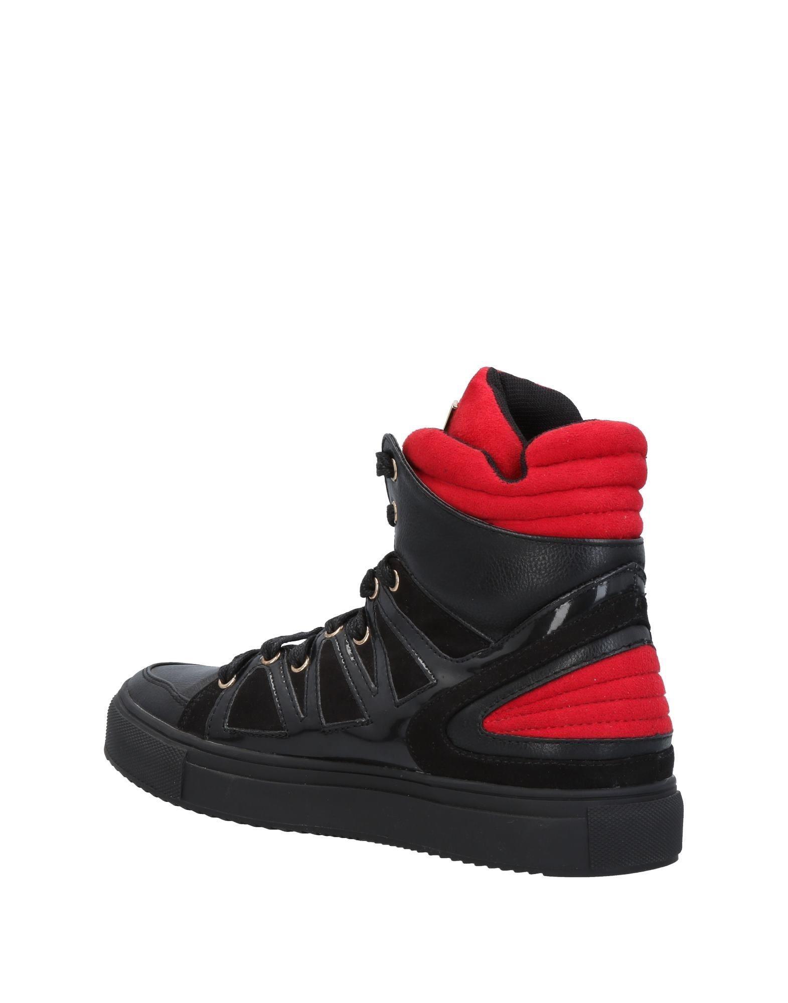 designer fashion c0779 3d858 roccobarocco-Black-High-tops-Sneakers.jpeg