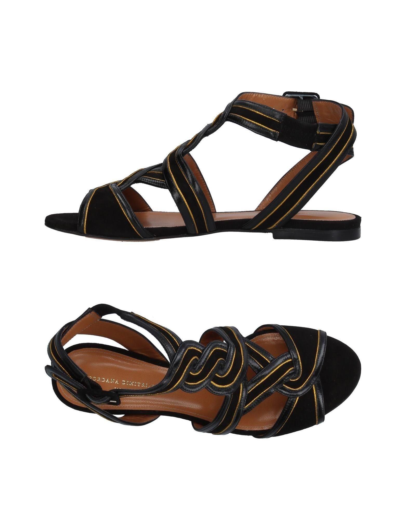 GORDANA DIMITRIJEVI? Leather Sandals Sale Low Shipping Really Cheap Online CBjo68