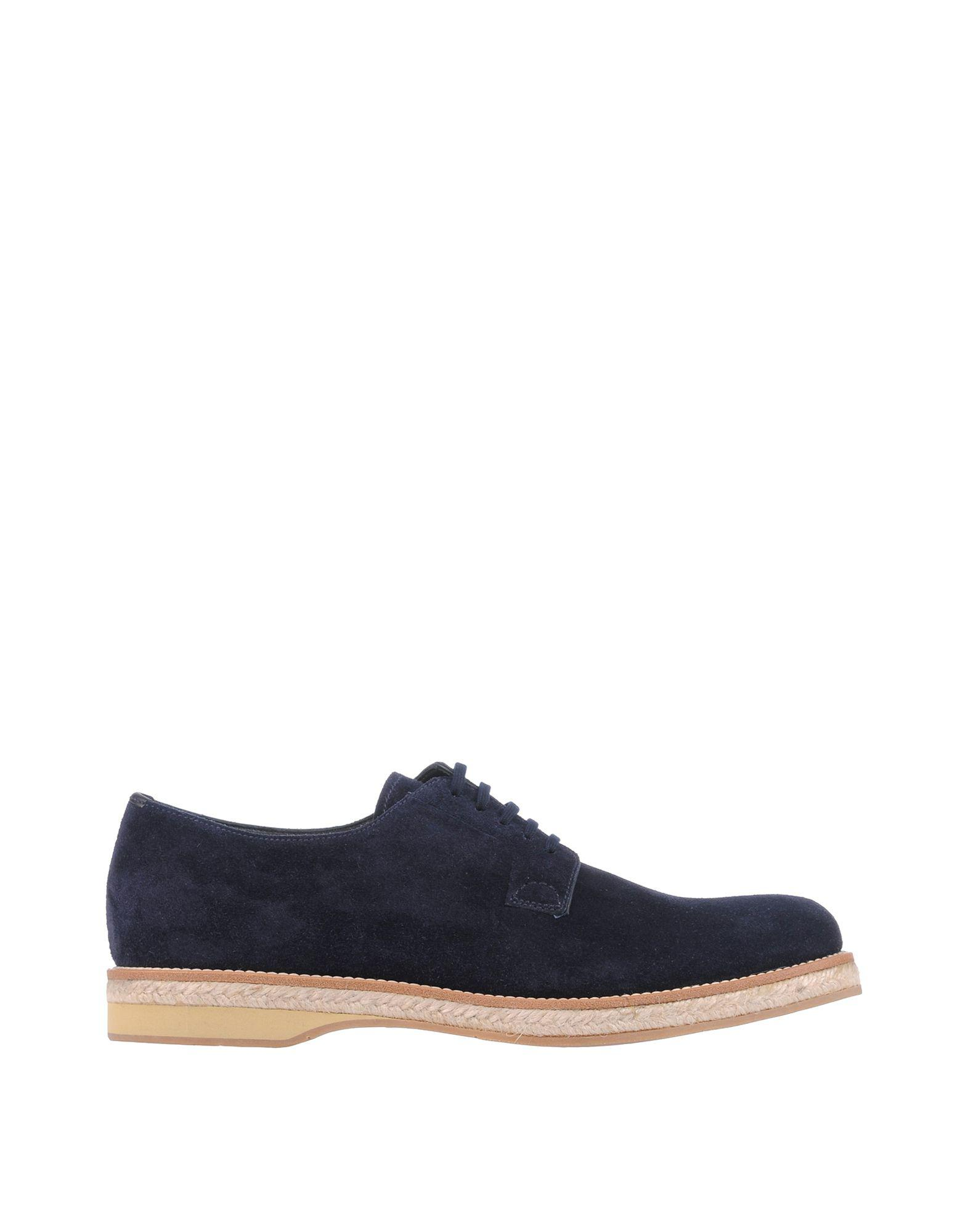 c943bc5a87f Lyst - Prada Lace-up Shoe in Blue for Men