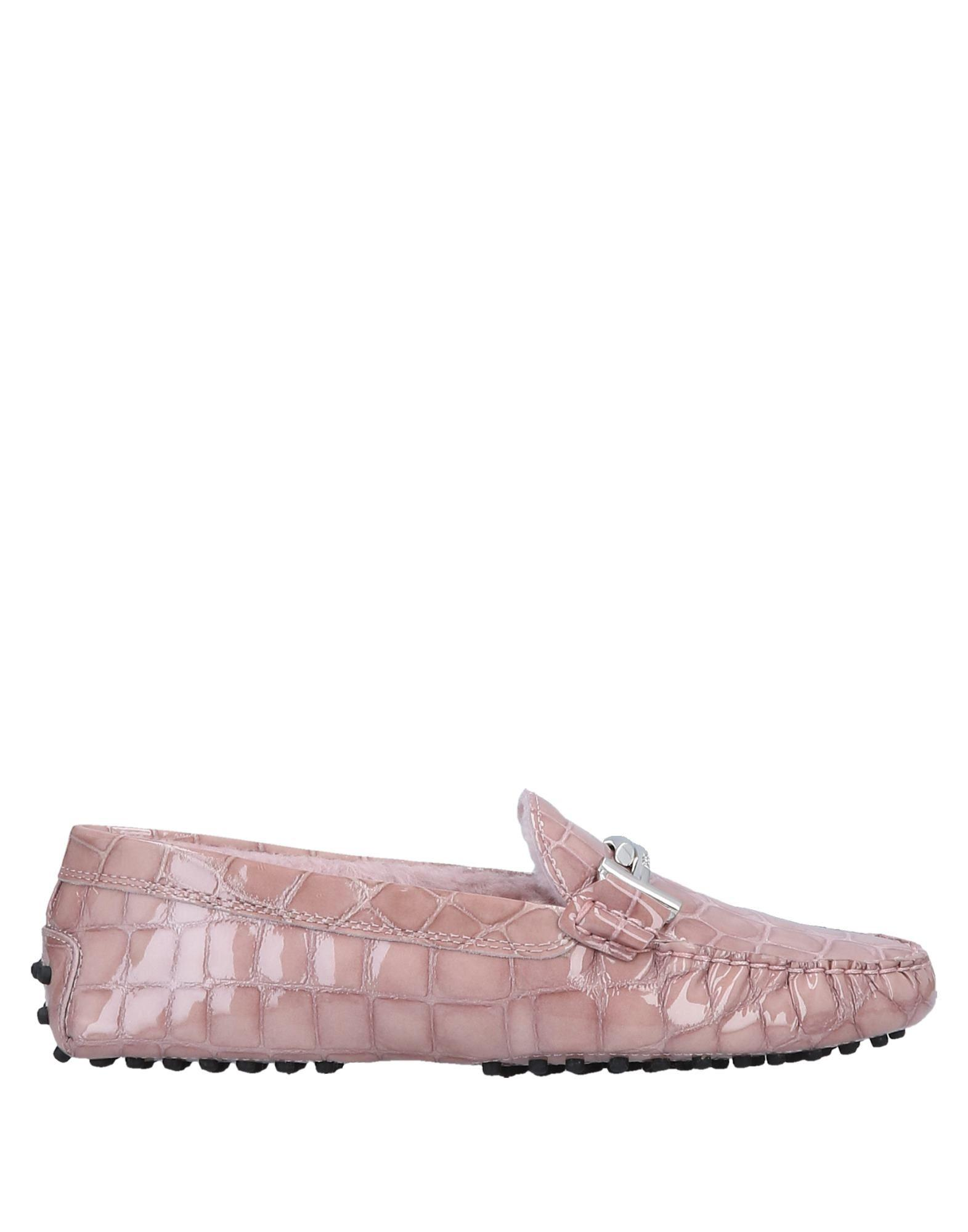 6ff57514161 Lyst - Tod s Loafer in Pink