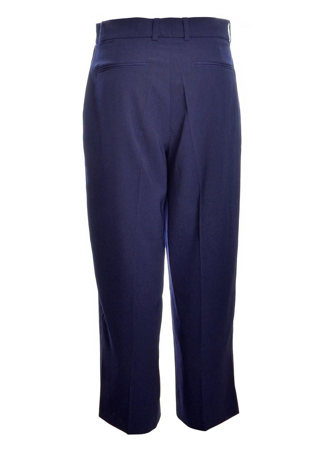 Lyst - Folk Wide Tailored Trousers In Navy