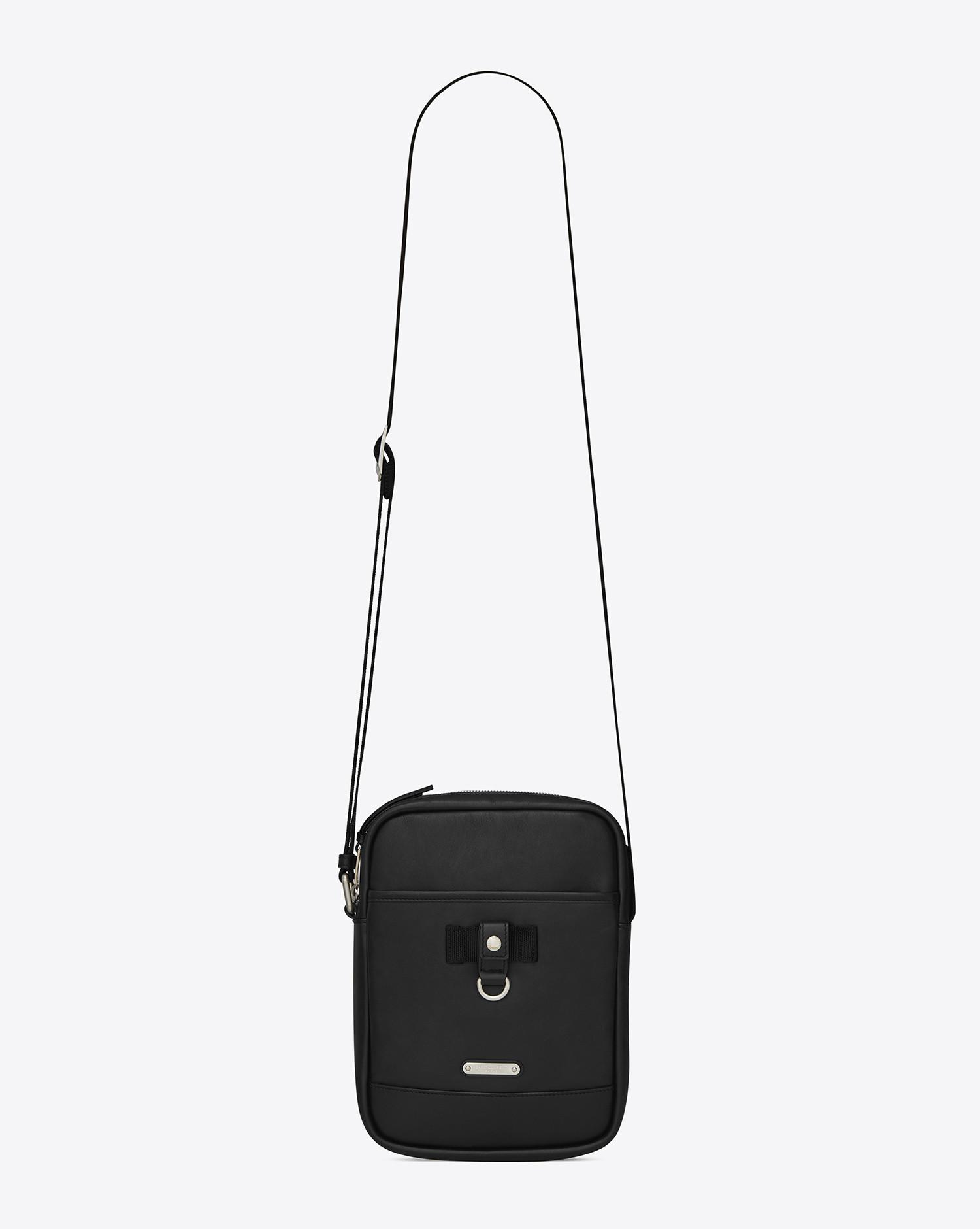 3f437a4a05 Lyst - Saint Laurent Messenger And Crossbody in Black