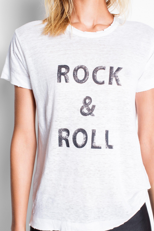 0e0f96cc Zadig & Voltaire Walk Lin Oversize T-shirt in White - Lyst