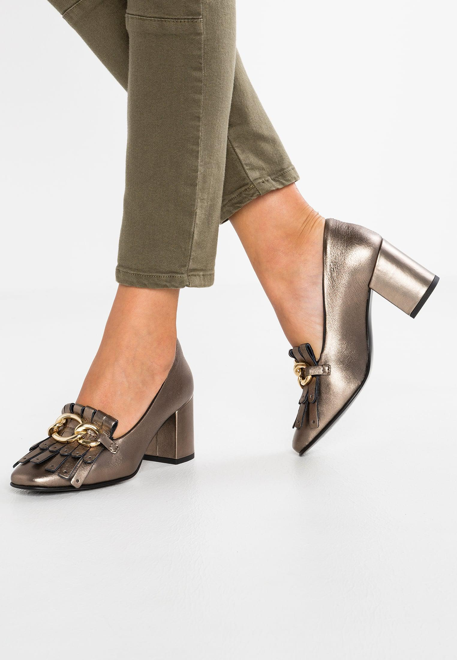 Womens Solden Closed Toe Heels Tosca Blu PMzkXRV