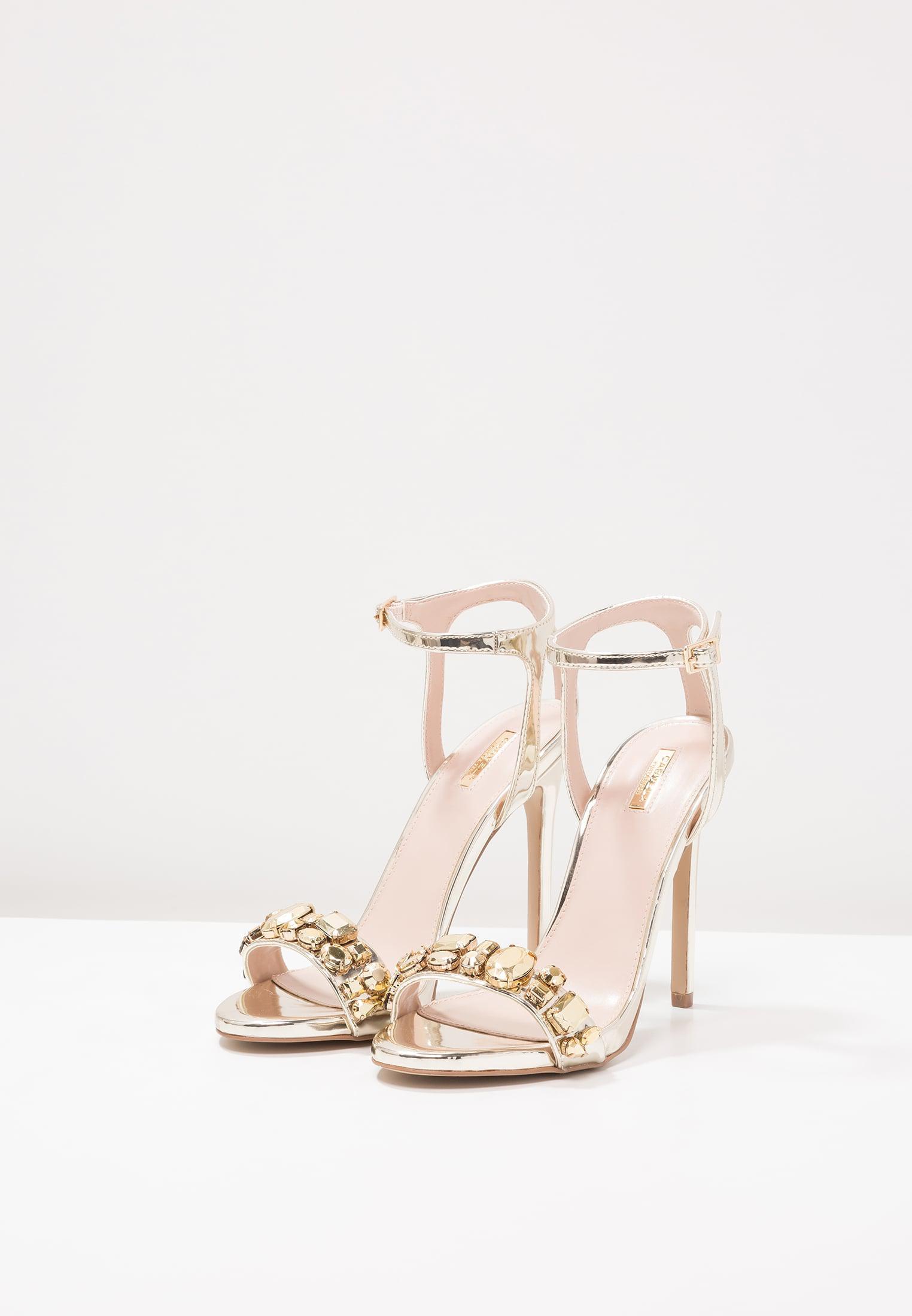 799dd3745d2e Carvela kurt geiger Gail High Heeled Sandals in Metallic