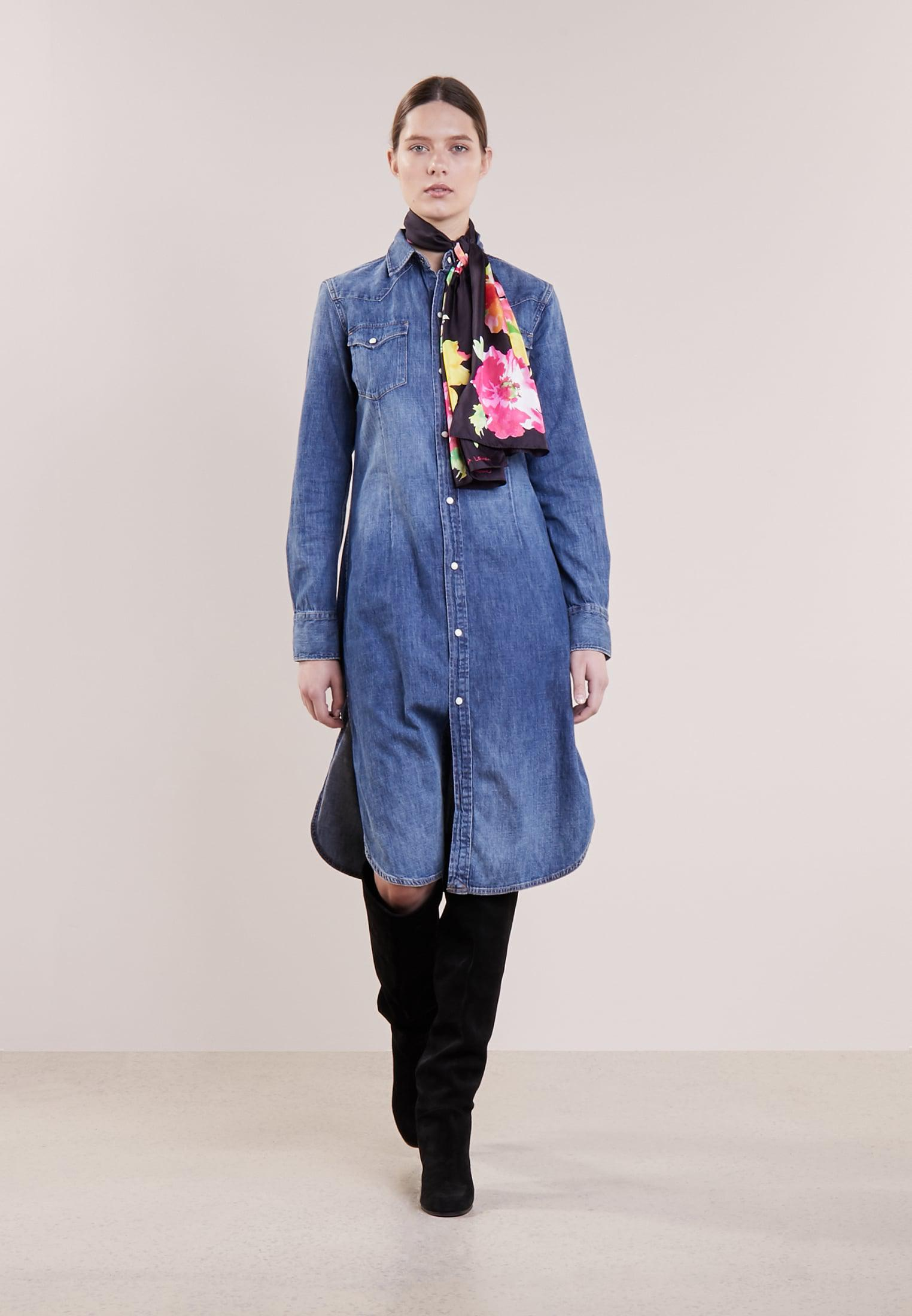 Polo Ralph Lauren | Blue Beaumont Denim Dress | Lyst. View Fullscreen