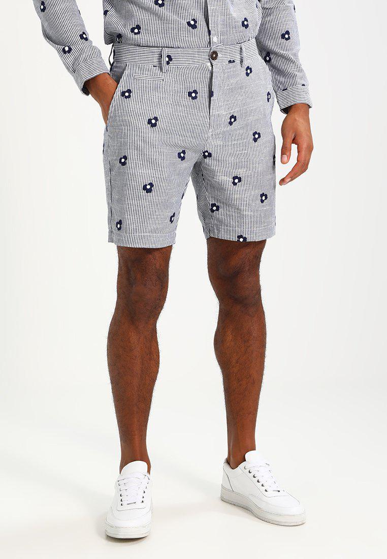 Suit. Men's Blue Time Shorts