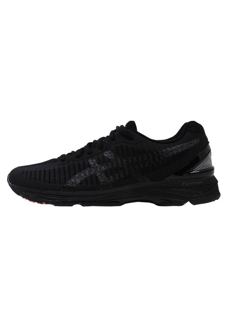 ASICS GEL-DS TRAINER 23 - Neutral running shoes - black/silver VZrUKeaiM
