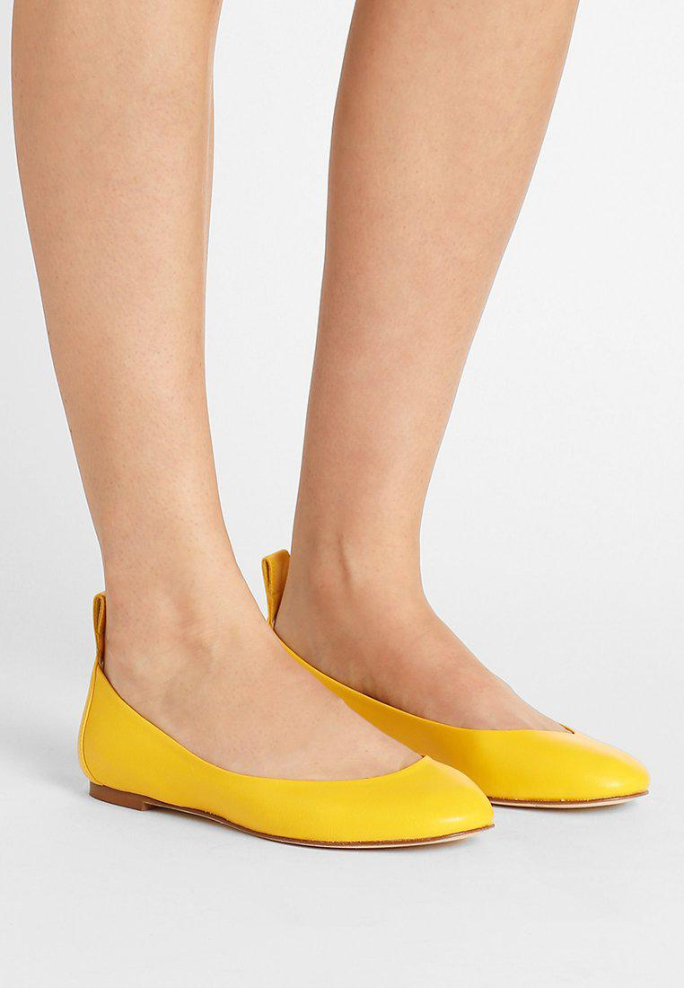 Latest Max&Co. Agile Yellow Ballet Flats for Women Sale