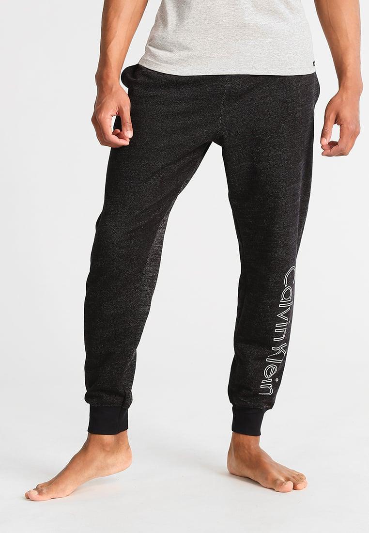 calvin klein pyjama bottoms in black for men lyst. Black Bedroom Furniture Sets. Home Design Ideas