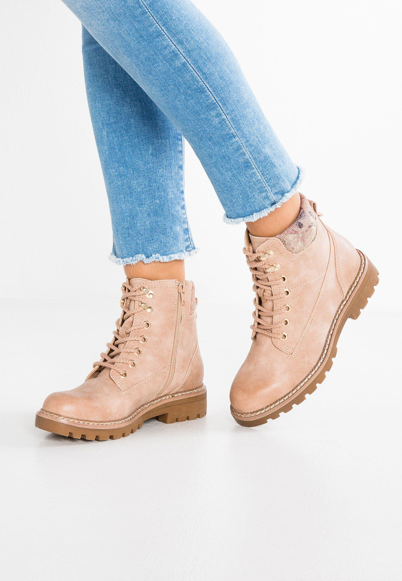 Anna Field Lace-up boots - pink Aa50Kjz