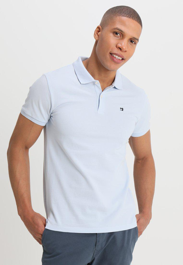 Scotch & Soda CLASSIC CLEAN - Polo - blue MGL8H