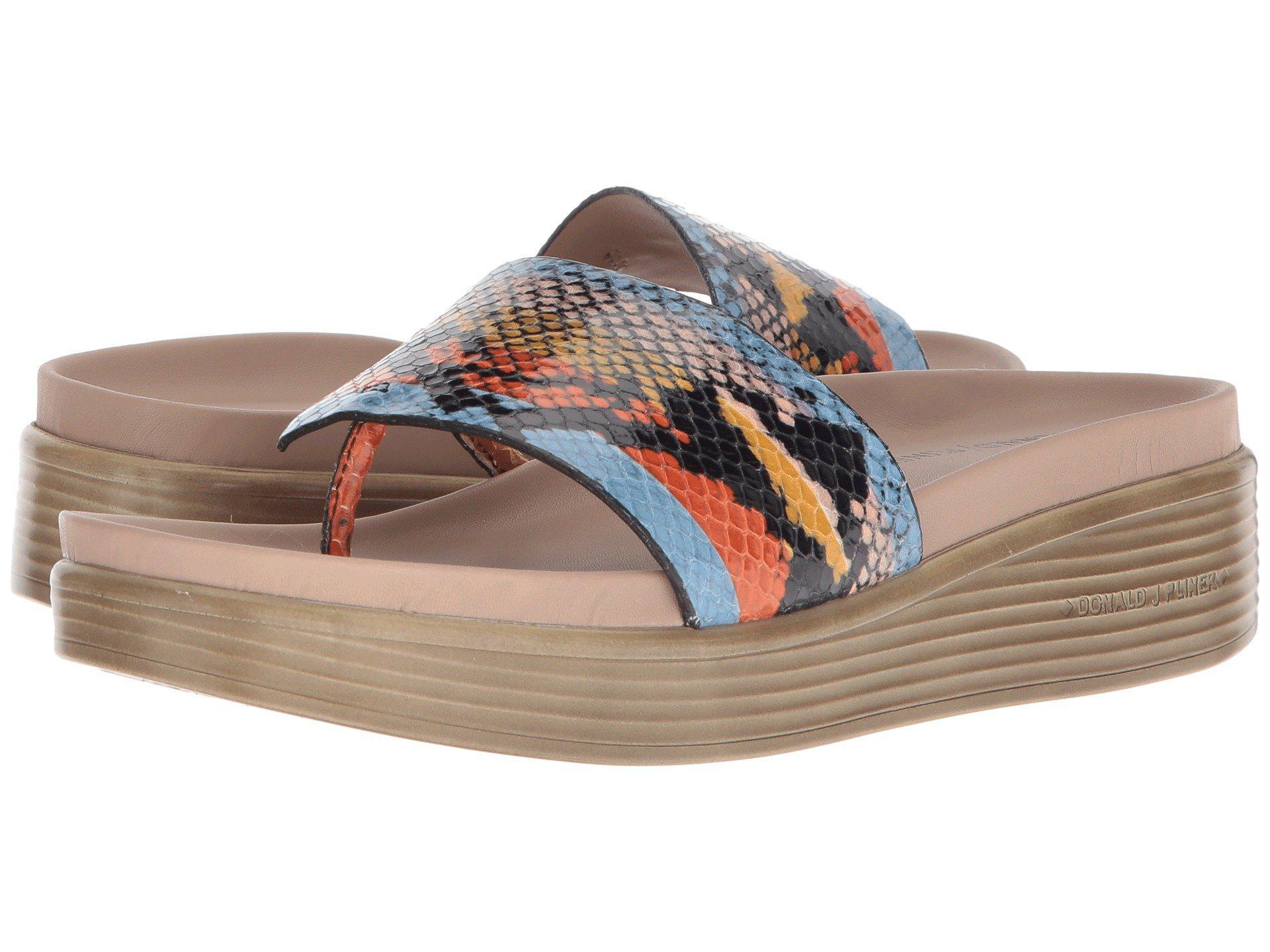 06ffd8d6397a Lyst - Donald J Pliner Fifi 19 (rose Gold) Women s Wedge Shoes