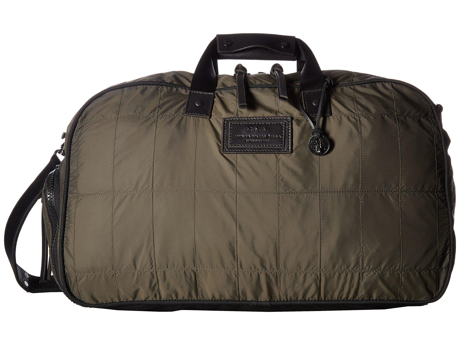 John Varvatos Quilted Nylon Duffel With Shoe Pack 6LCy1qjg2