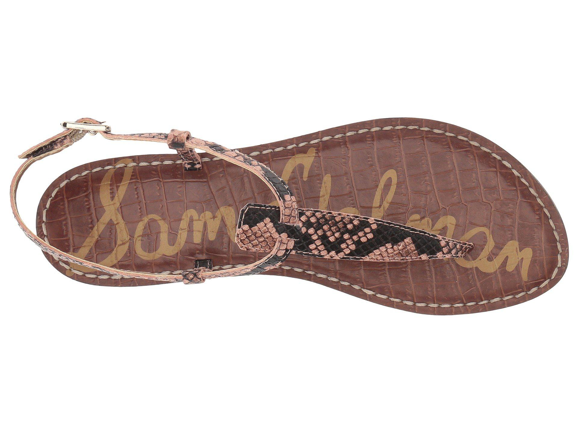 76af1dd1d774af Lyst - Sam Edelman Gigi (dusty Rose Royal Snake Print Goat Leather ...