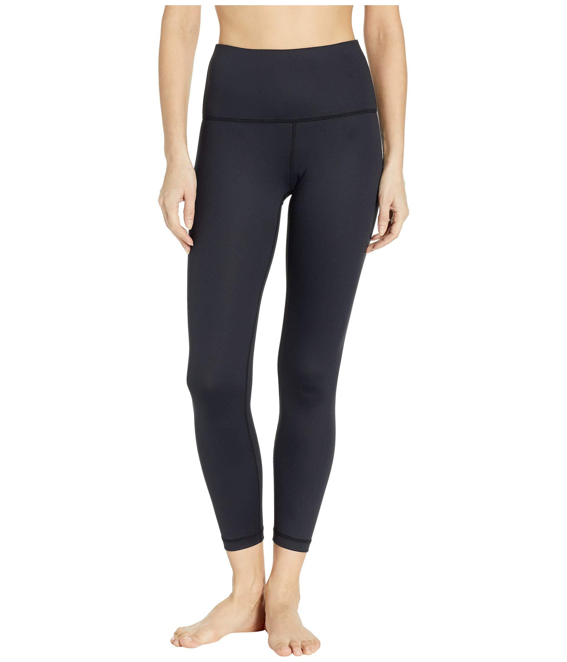 a51a73d20733e2 Lyst - Lolë Parisia High-waisted Ankle (black) Women's Workout in Black