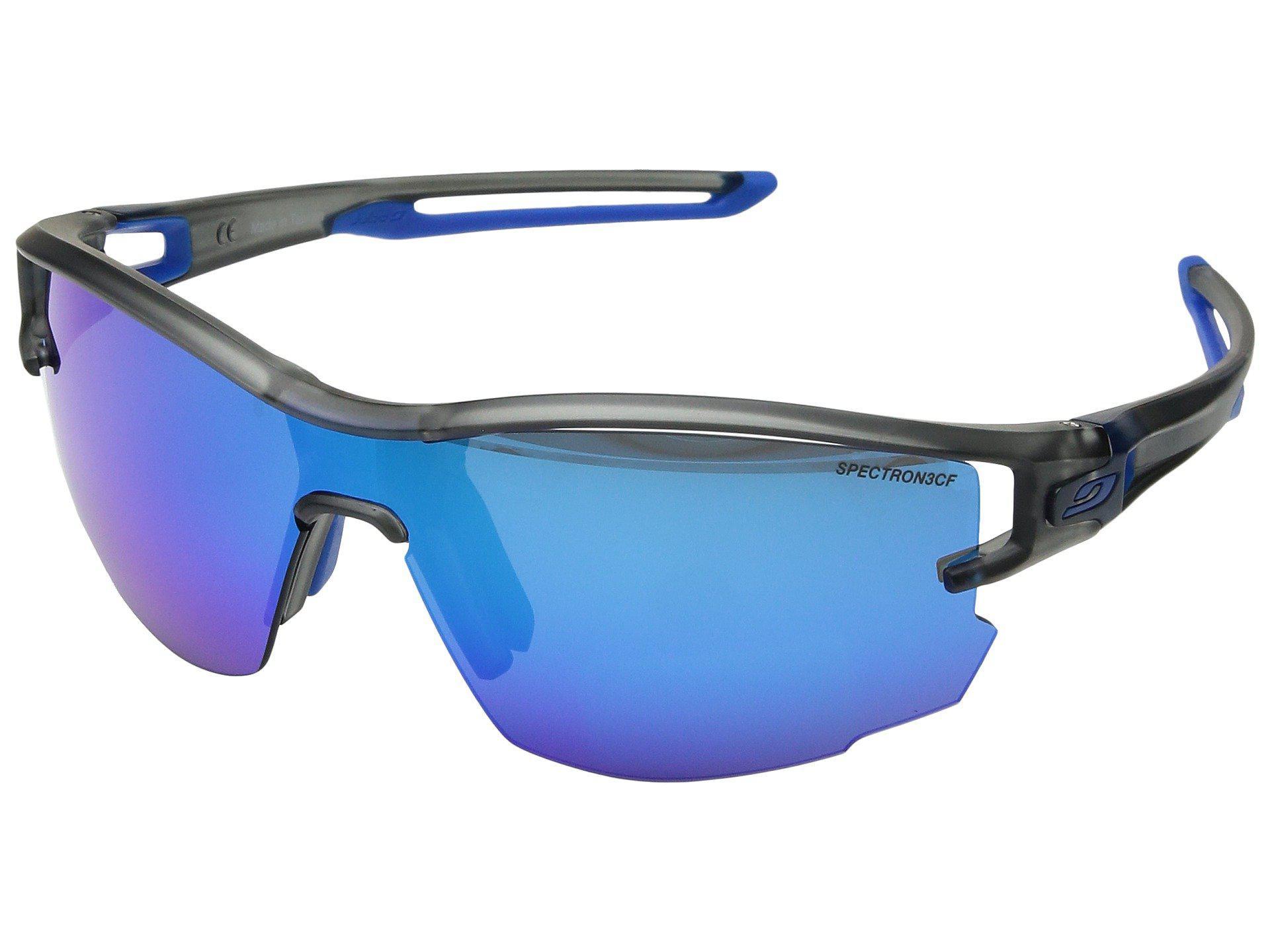 49d375e1858ae8 Lyst - Julbo Eyewear Aero (translucent Gray blue) Sport Sunglasses ...