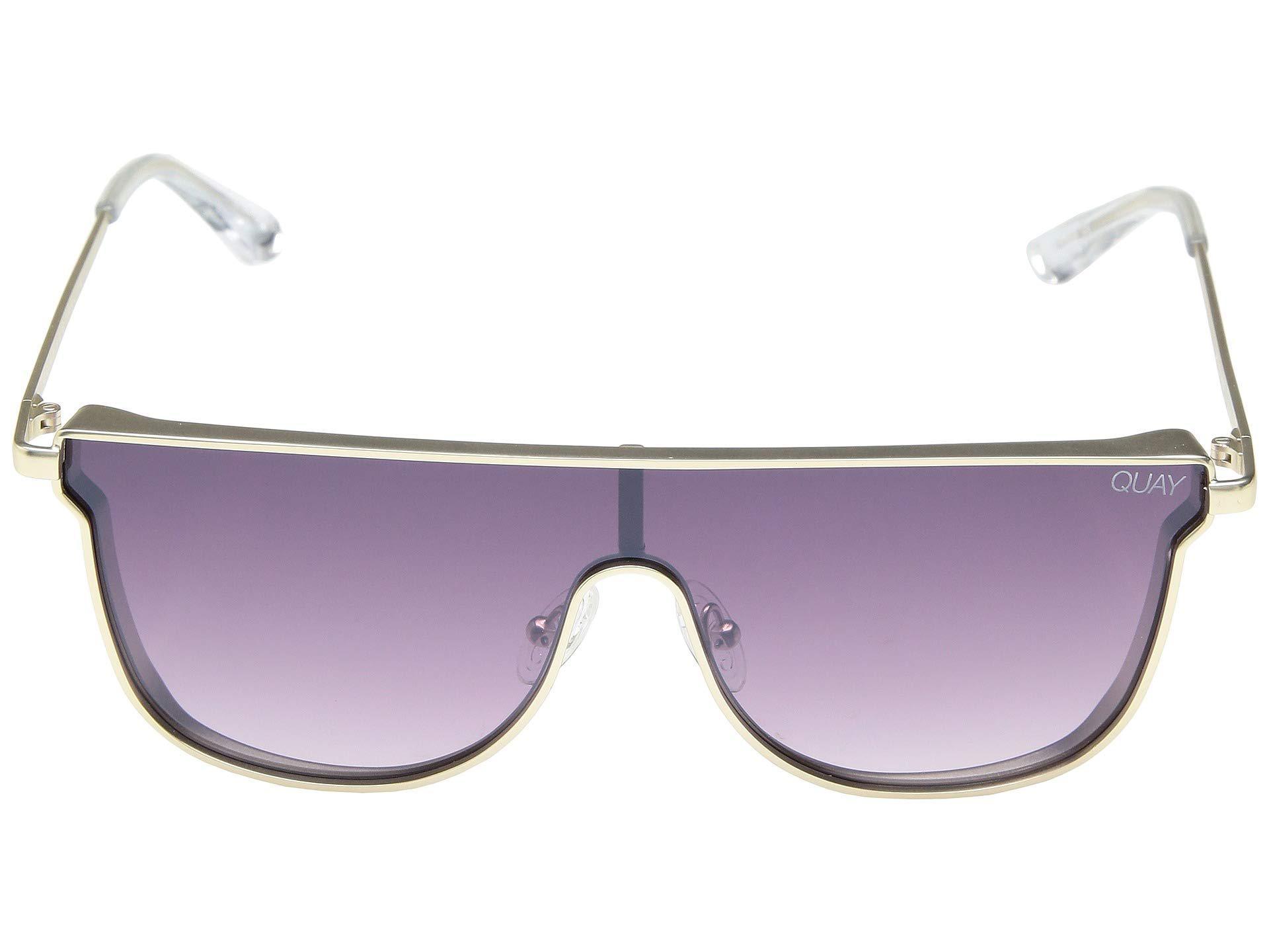 f36f5653eb2f8 Lyst - Quay Can You Not (gold purple Fade) Fashion Sunglasses