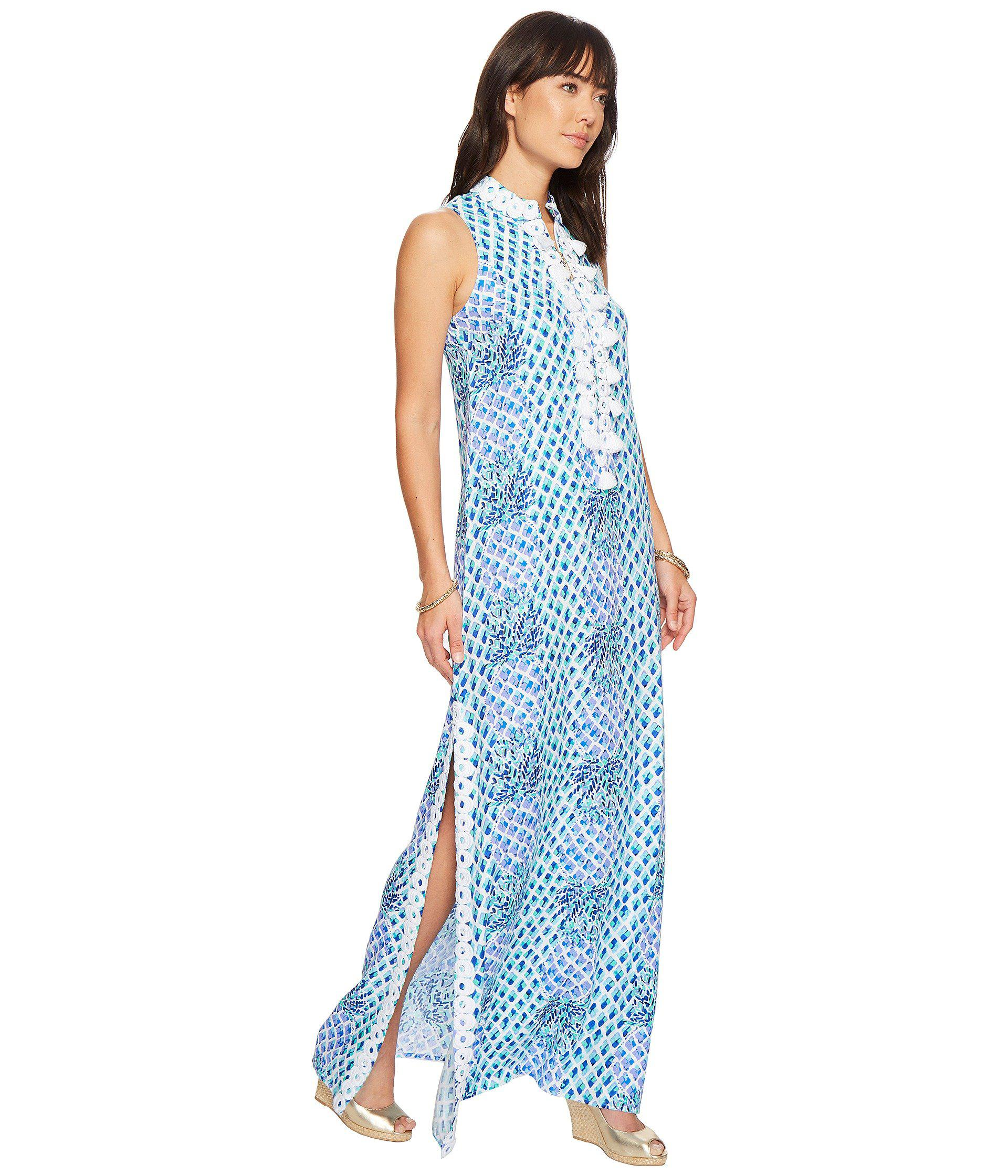 fcf5ccc7864 Lilly Pulitzer Jane Maxi Dress (resort White Toe In Engineered ...