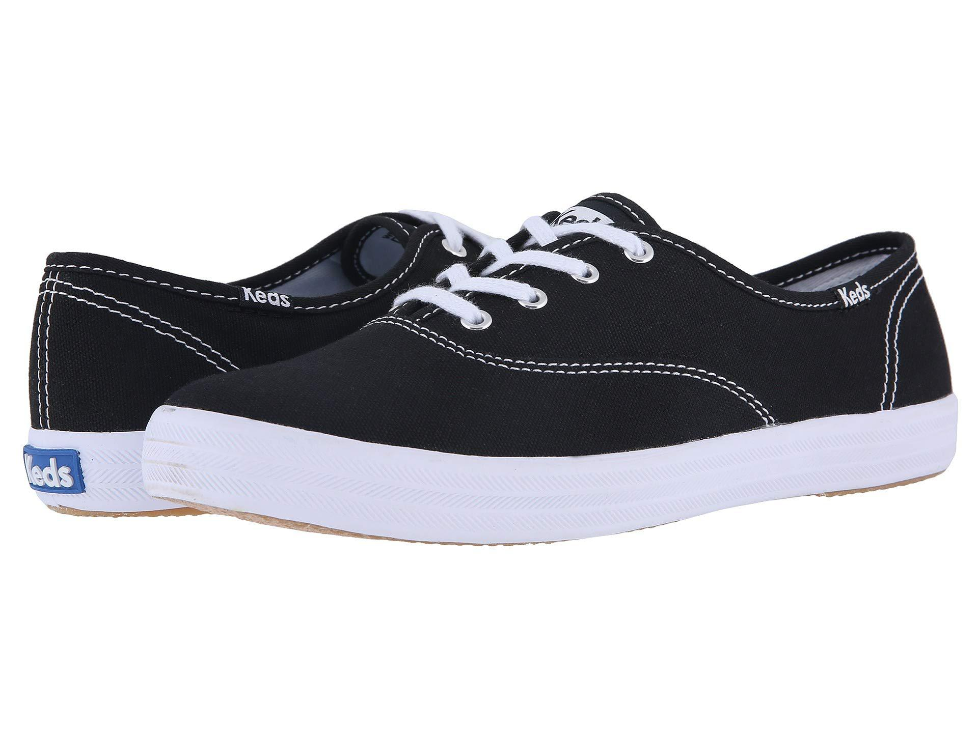8a83b80f2c815 Lyst - Keds Champion Core Trainers in Black - Save 22%