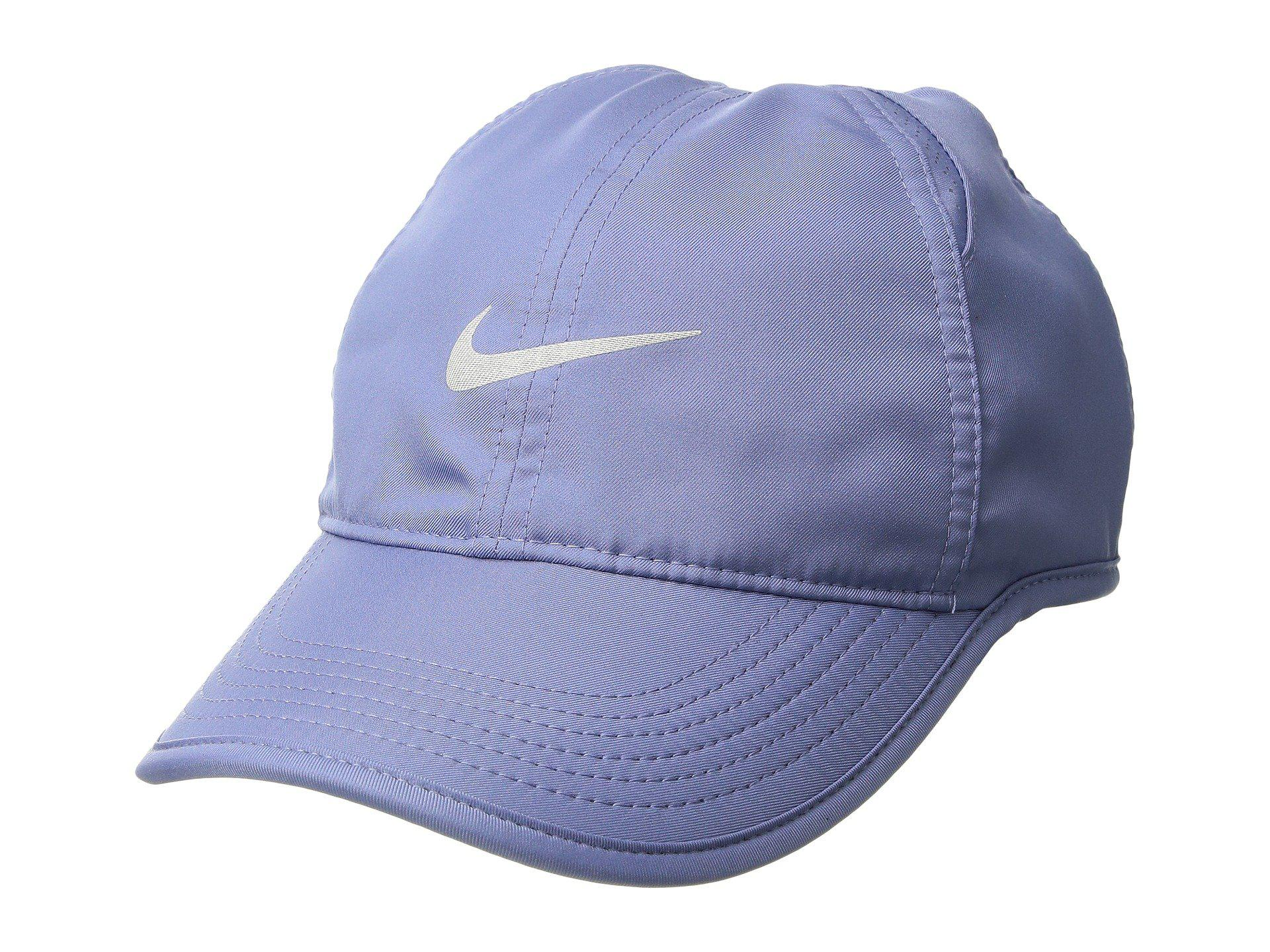 cheap for discount 0cda2 32816 ... australia lyst nike featherlight cap womens in purple 3bea0 47ab1