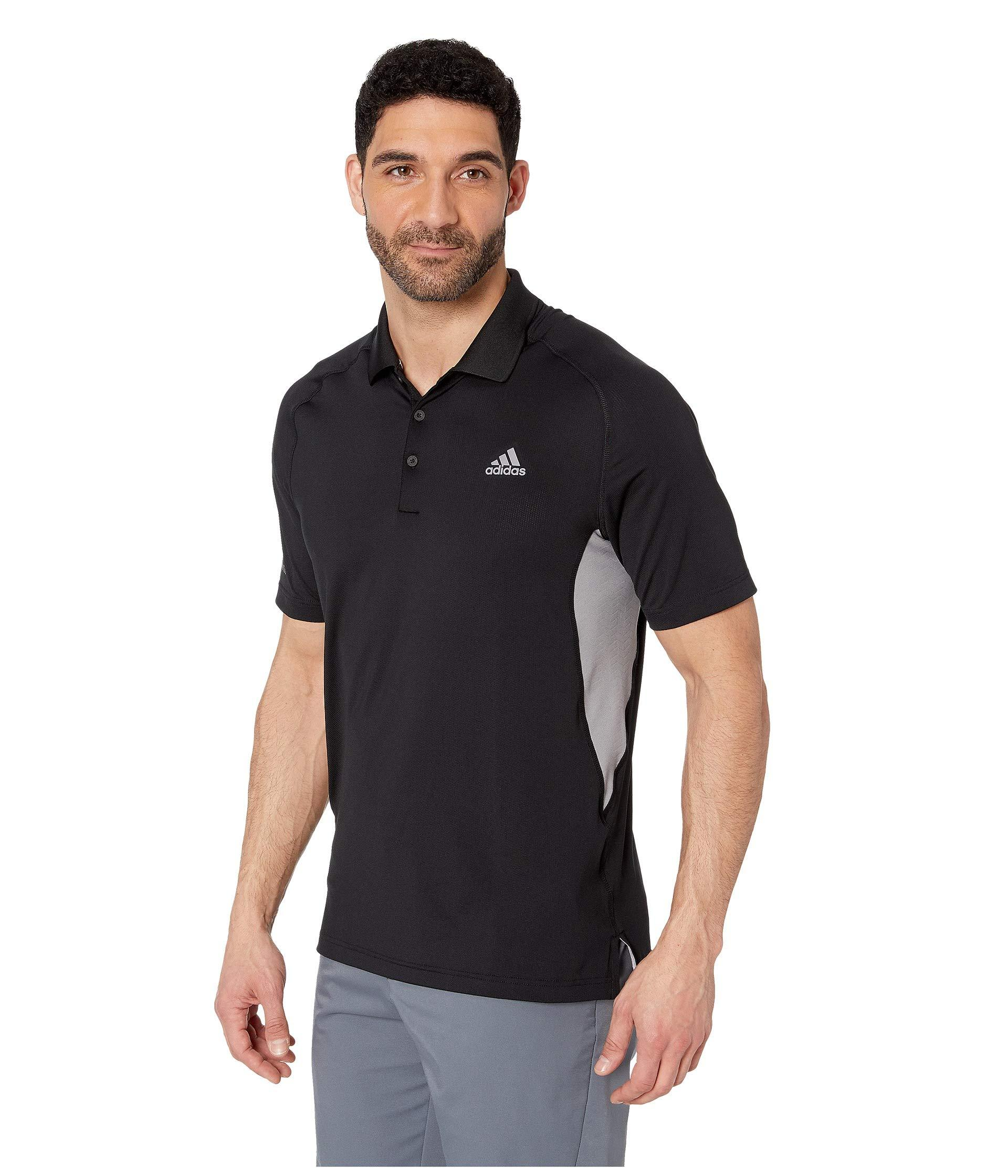 77c49c37da2f8 Lyst - adidas Originals Ultimate Climacool(r) Solid Polo (shock  Red collegiate Navy) Men s Clothing in Black for Men