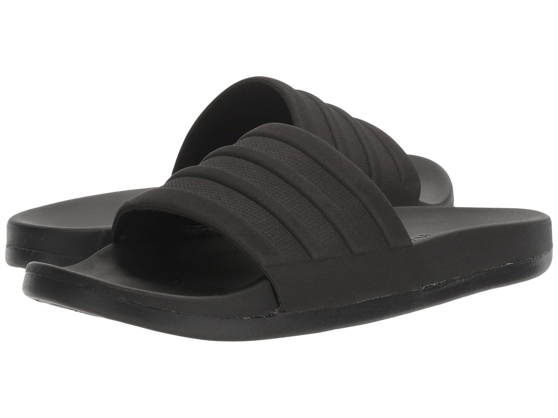 adidas cloudfoam adilette zwart