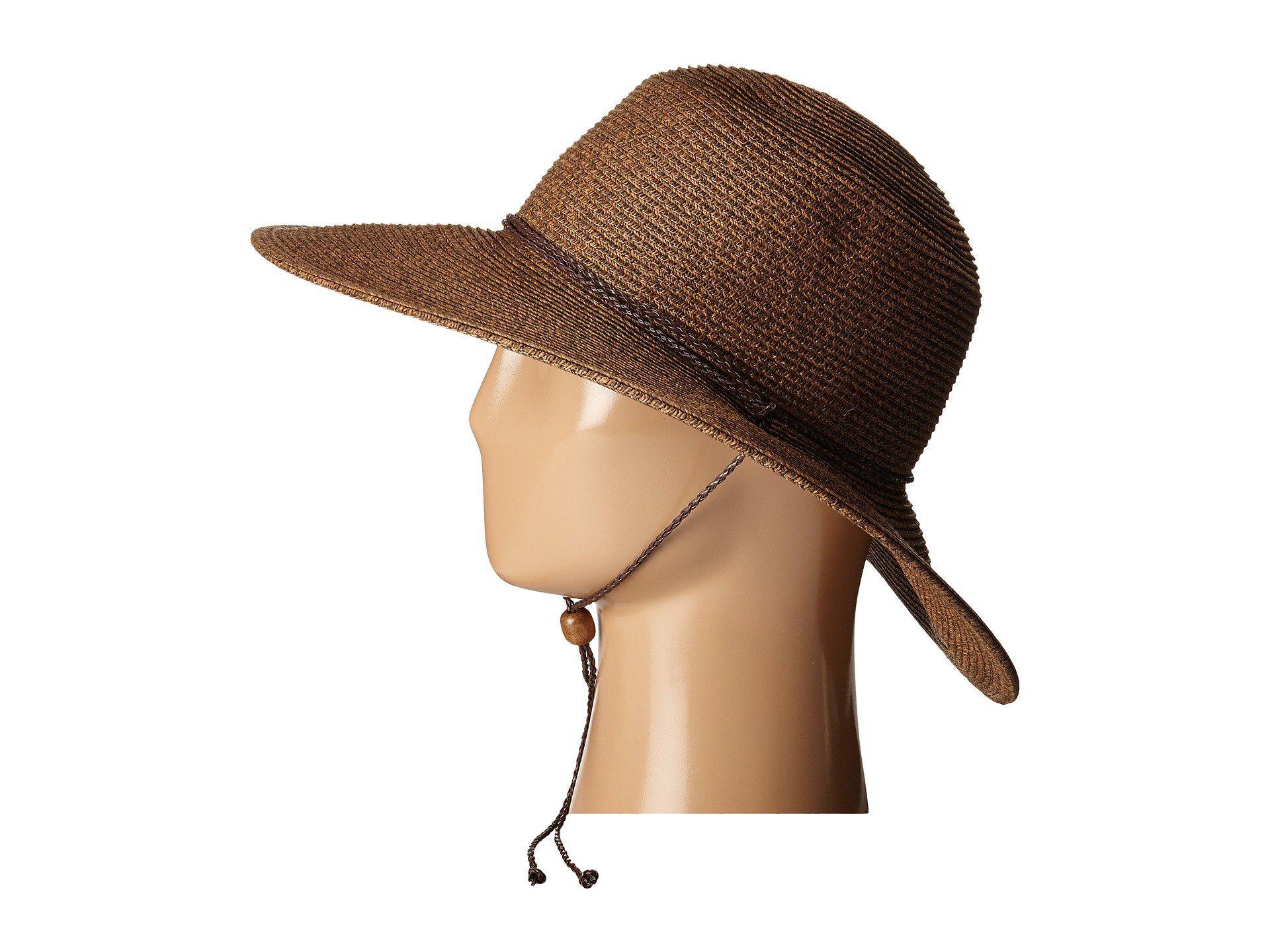 ... 4 Inch Brim Sun Hat With Twisted Adjustable Chin Cord. View fullscreen 792fa85542b