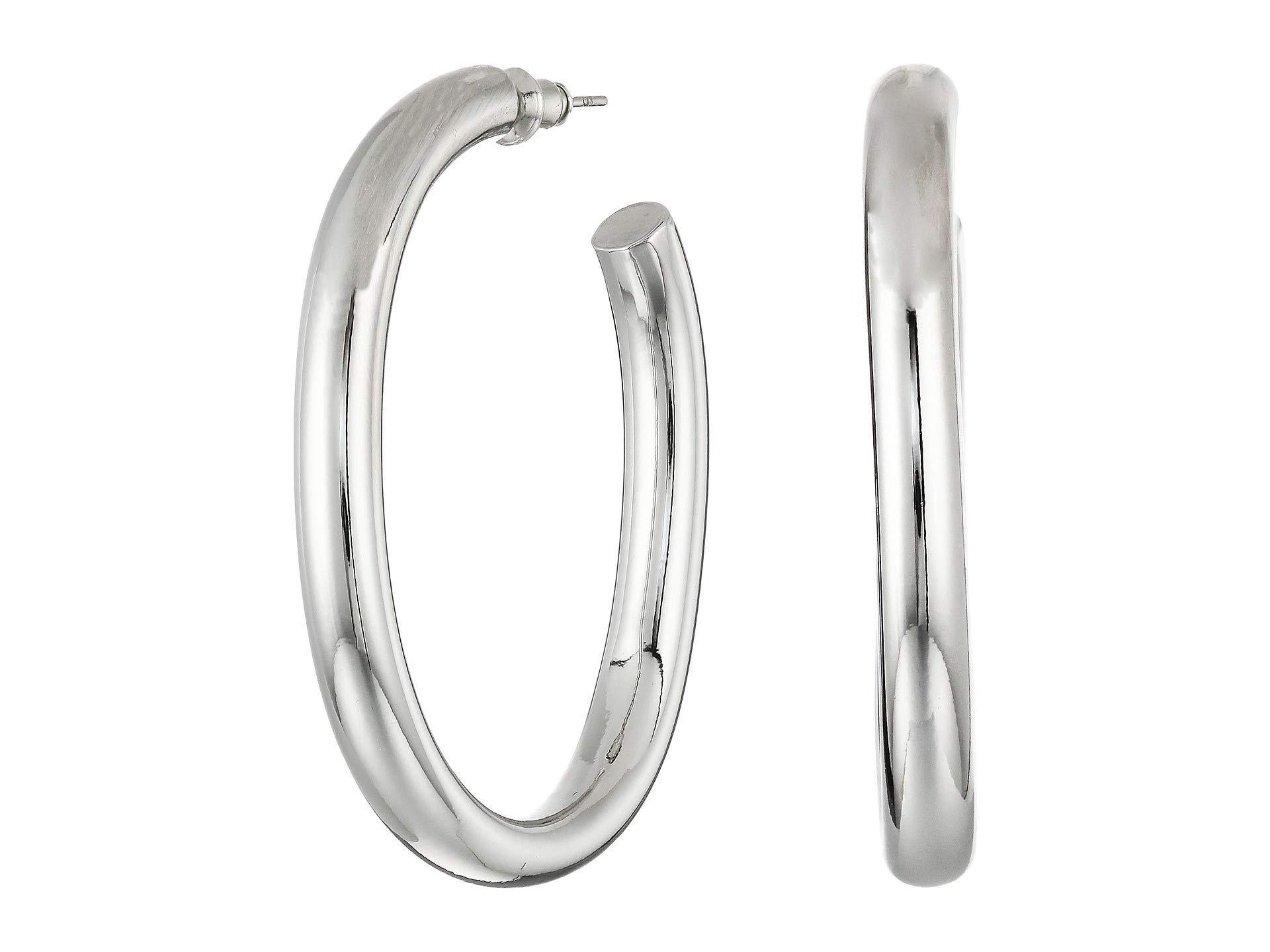 50aab9c76 Rebecca Minkoff Chunky Tubular Hoop Earrings (gold) Earring in ...