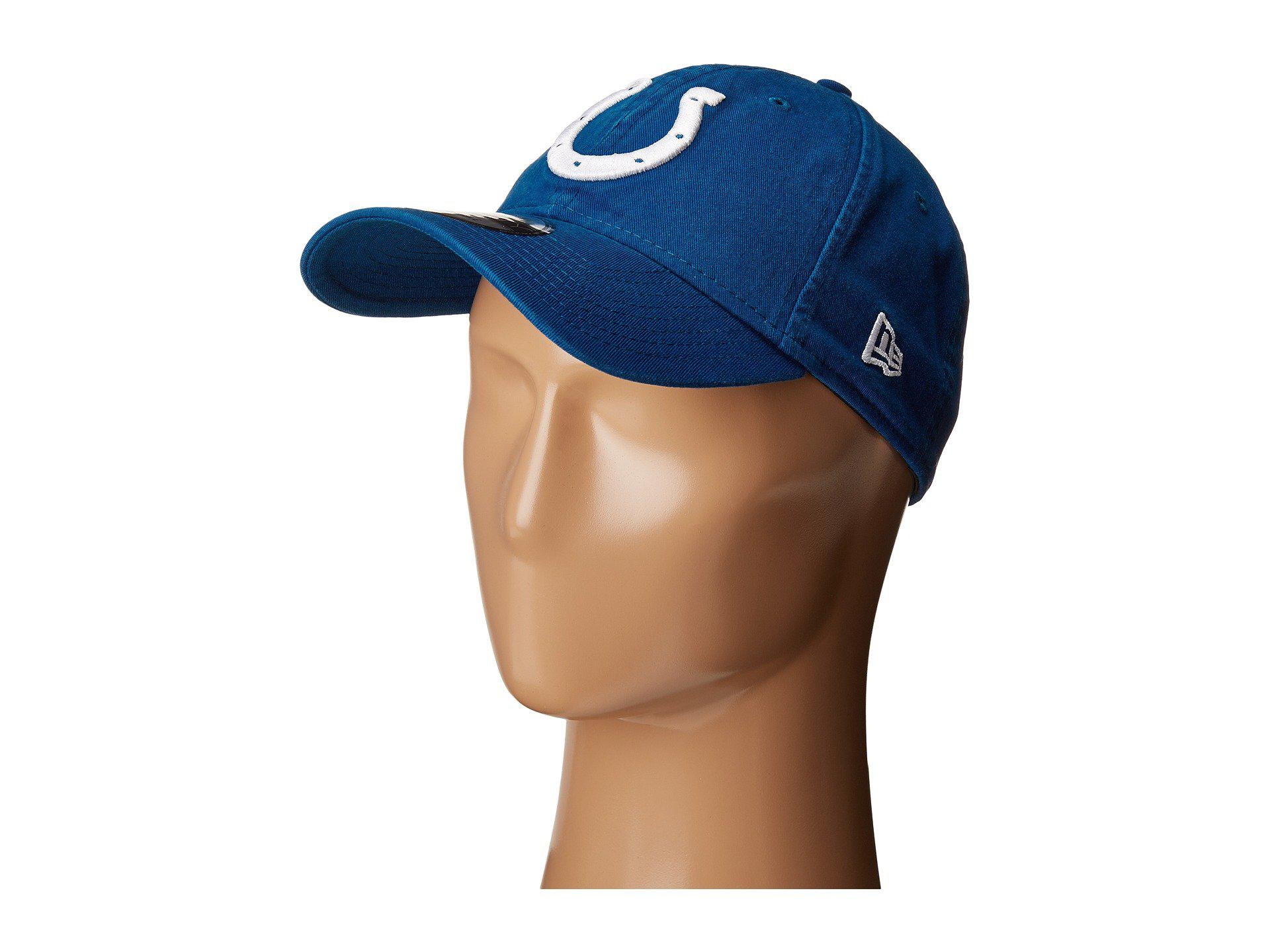 6f115816a75 Lyst - KTZ Indianapolis Colts 9twenty Core (blue) Baseball Caps in ...