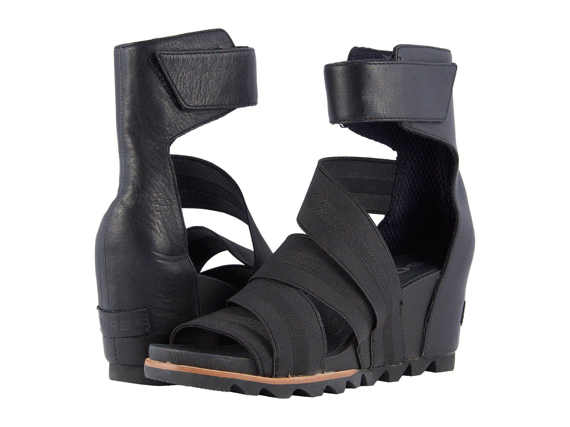 ac3f419c2cbc Lyst - Sorel Joanie Gladiator Ii (olive Drab) Women s Shoes in Black
