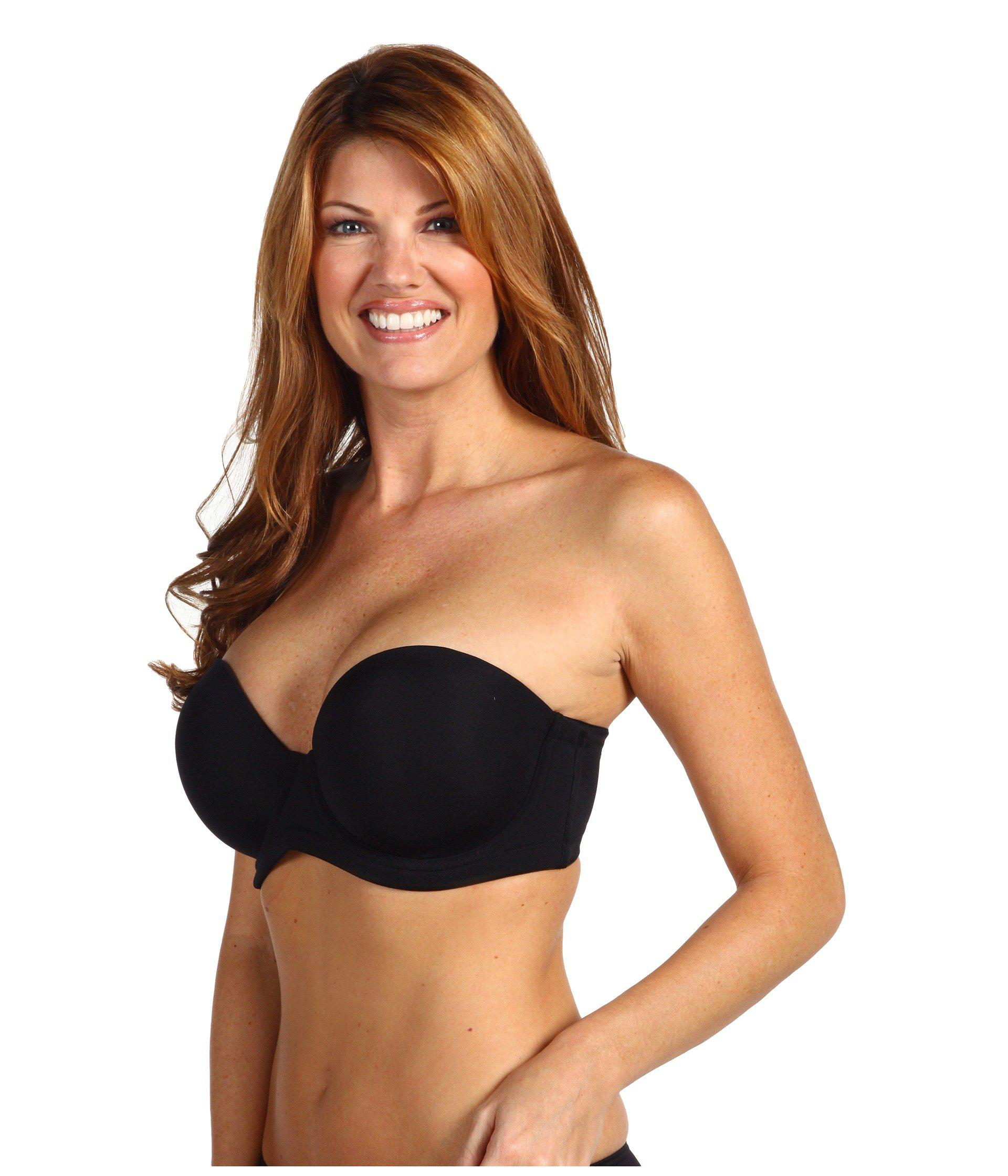 f34ee79bee Lyst - Wacoal Red Carpet Full-figure Strapless Bra in Black - Save 4%
