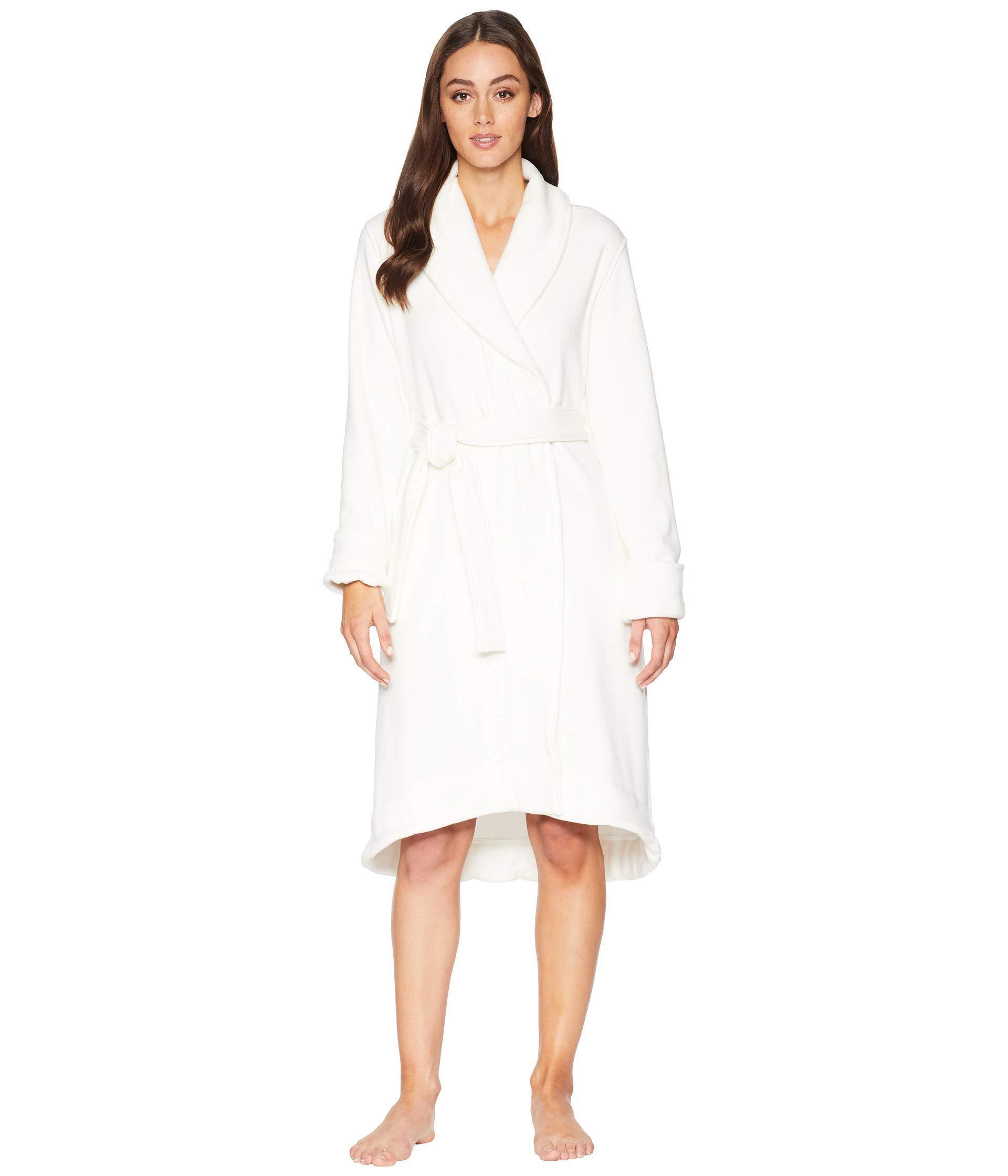 2069067aaf Lyst - UGG Duffield Ii Robe (seal Heather) Women s Robe in White