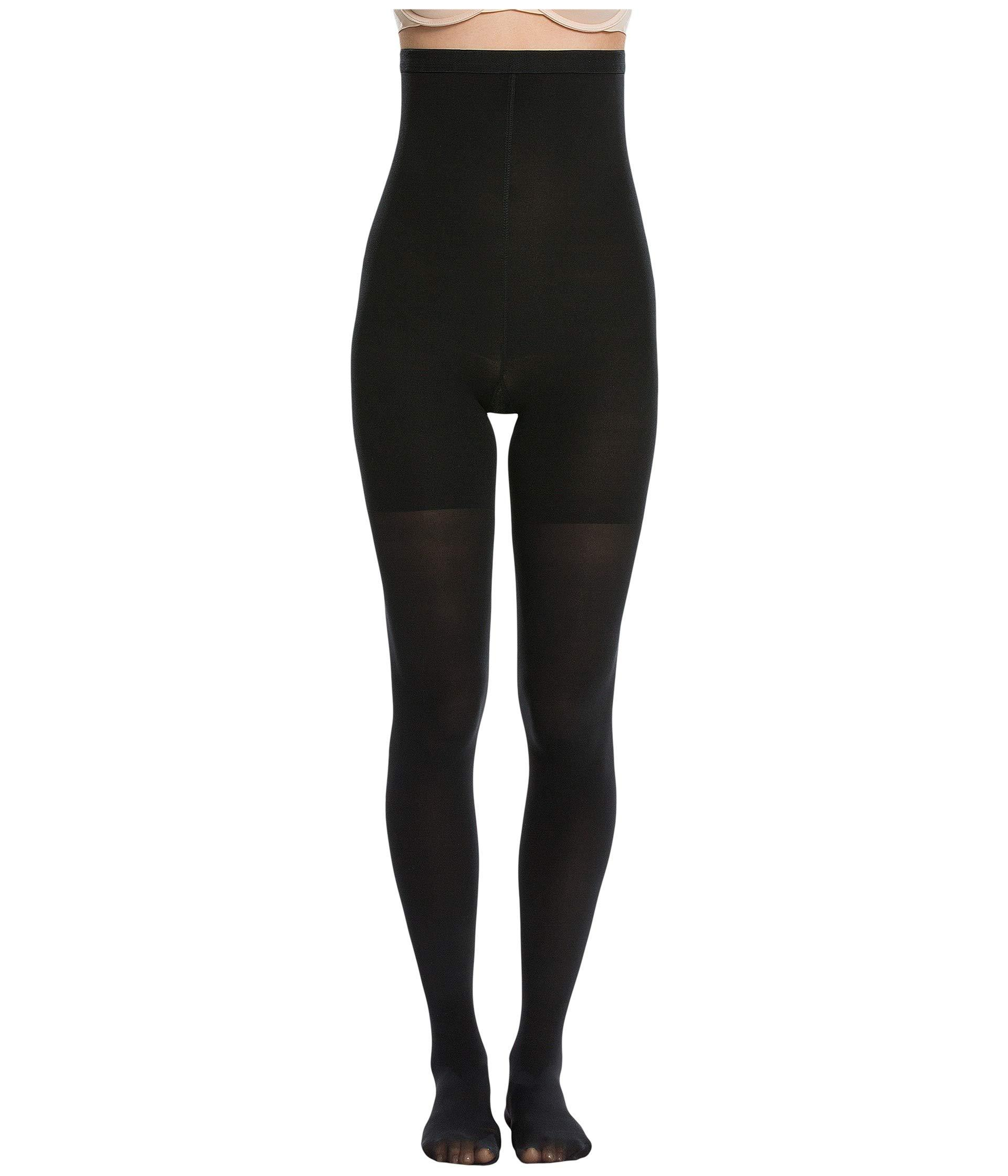 35804fc20e Lyst - Spanx Luxe Leg High-waisted Mid-thigh Shaping Tights (very ...