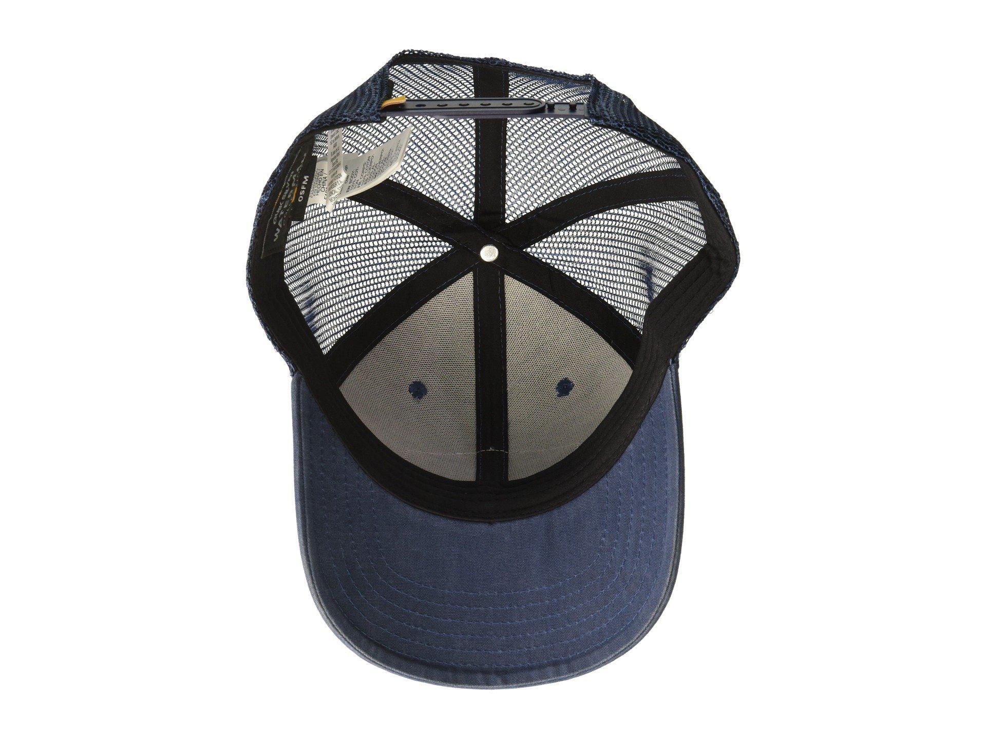 huge discount a7e9f 6b225 Quiksilver Wake Baker Trucker Hat in Blue for Men - Lyst