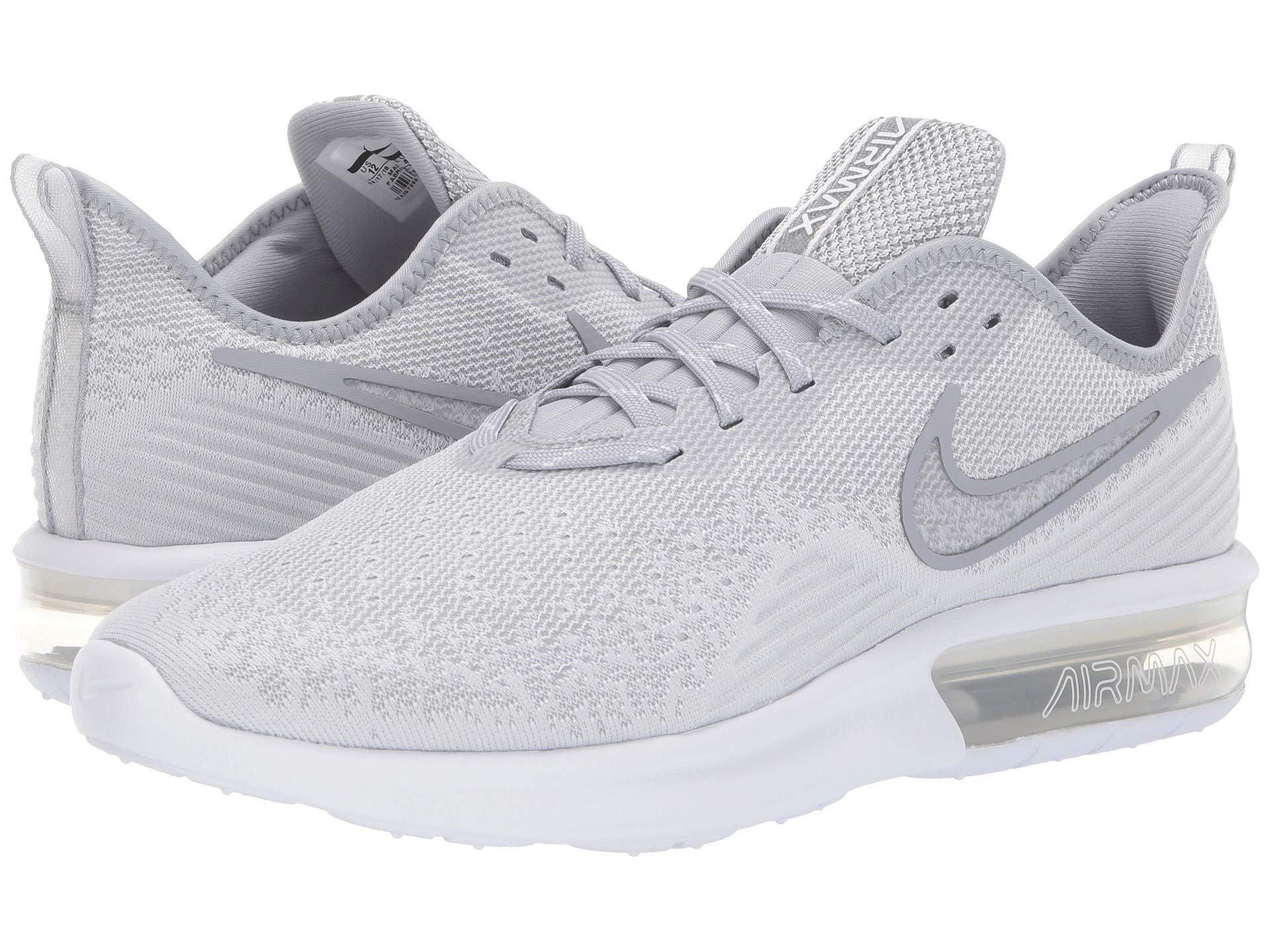 reputable site 317a6 9de1f Nike. White Air Max Sequent ...