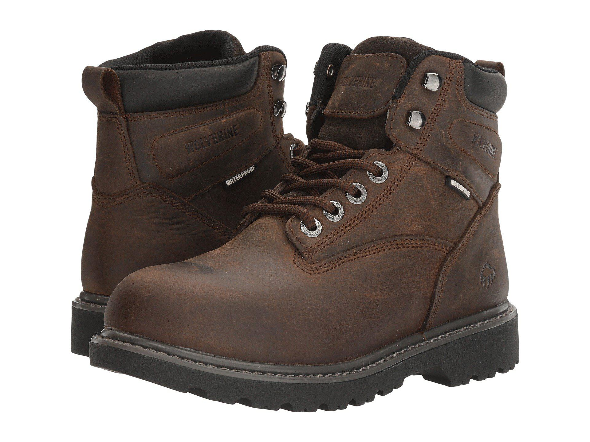 583365f0b7f Lyst - Wolverine Floorhand Waterproof (wheat) Women's Boots in Brown