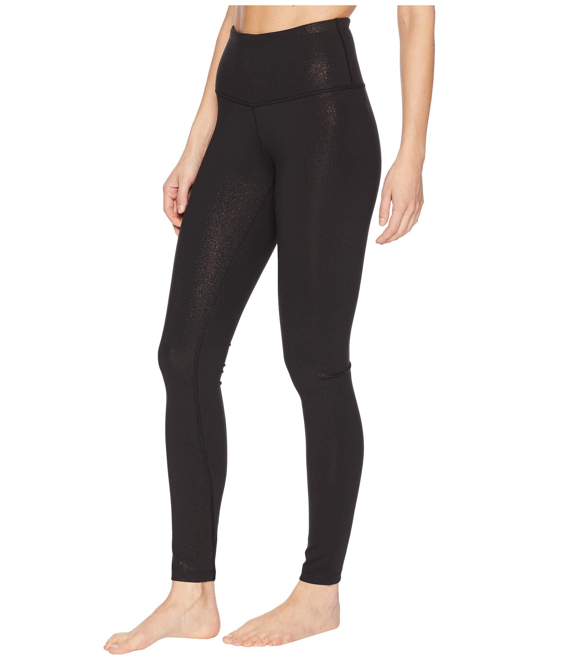 0fb4cedb9aa8a Lyst - The North Face Motivation High-rise Tights (tnf Black Copper  Sparkle) Women's Casual Pants in Black