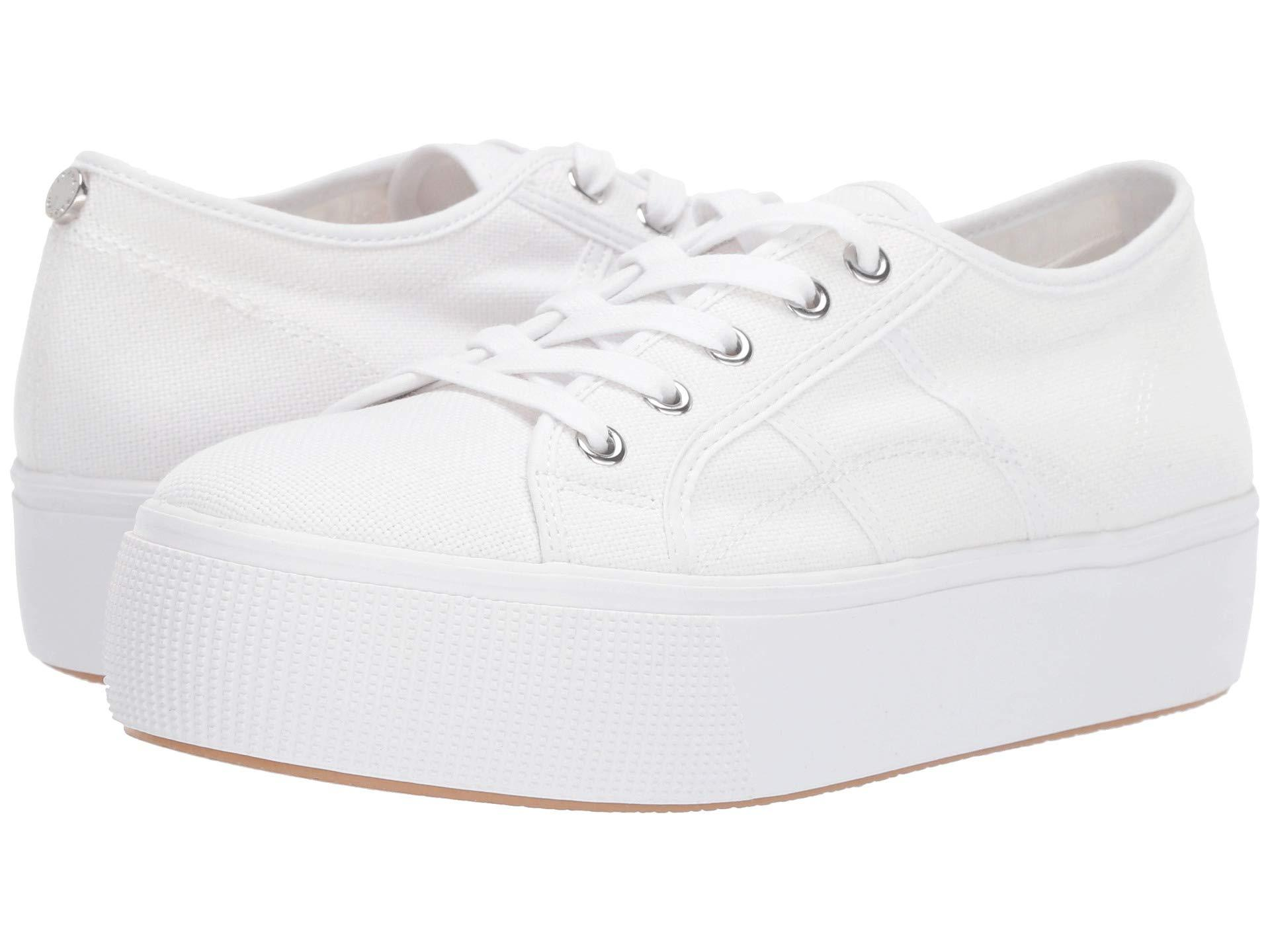 5cf8121071a Lyst - Steve Madden Emmi Platform Sneaker (grey) Women s Shoes in White