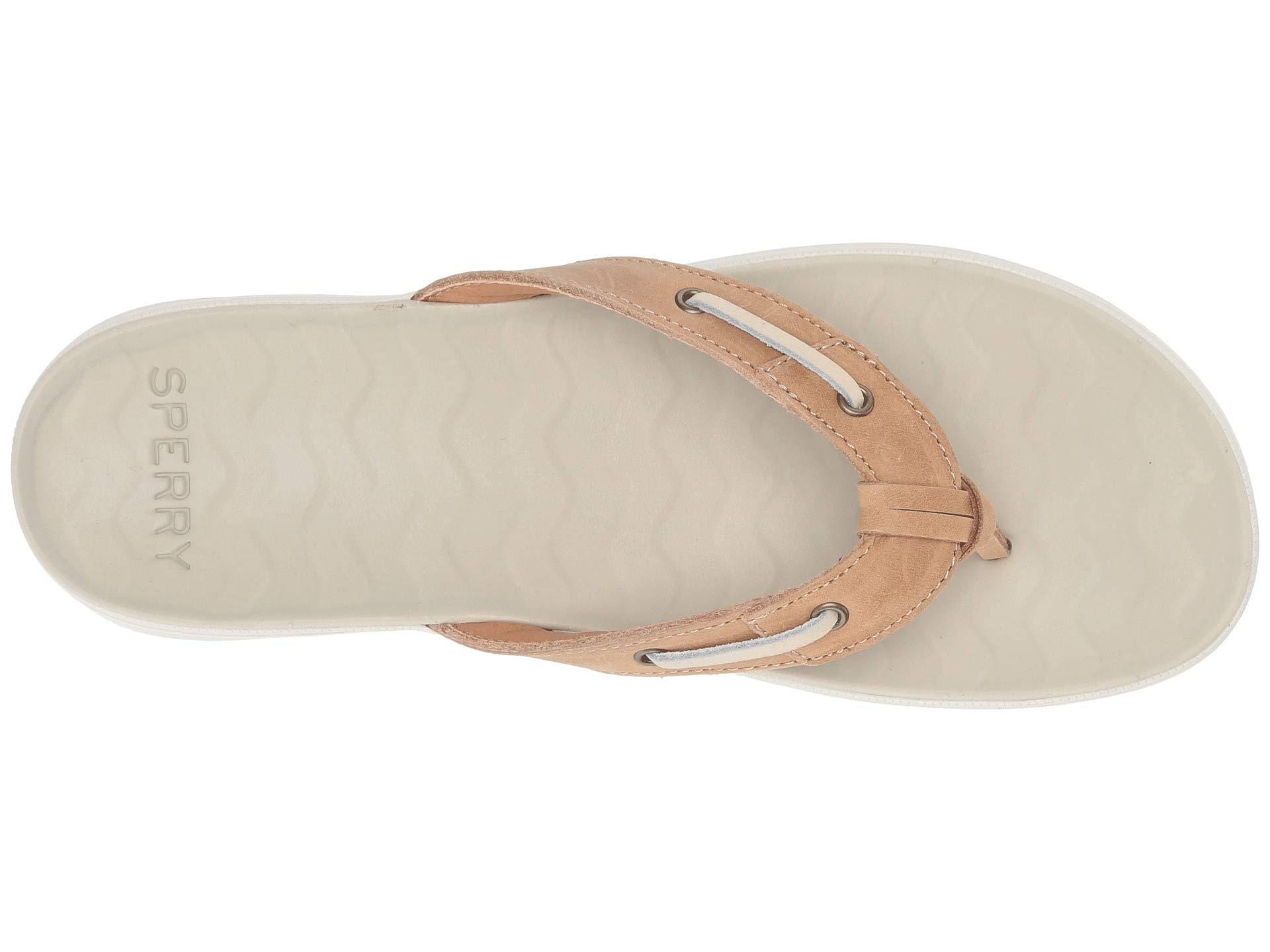 b62fa786c56d Sperry Top-Sider - Multicolor Adriatic Thong Skip Lace Leather (platinum)  Women s Sandals. View fullscreen