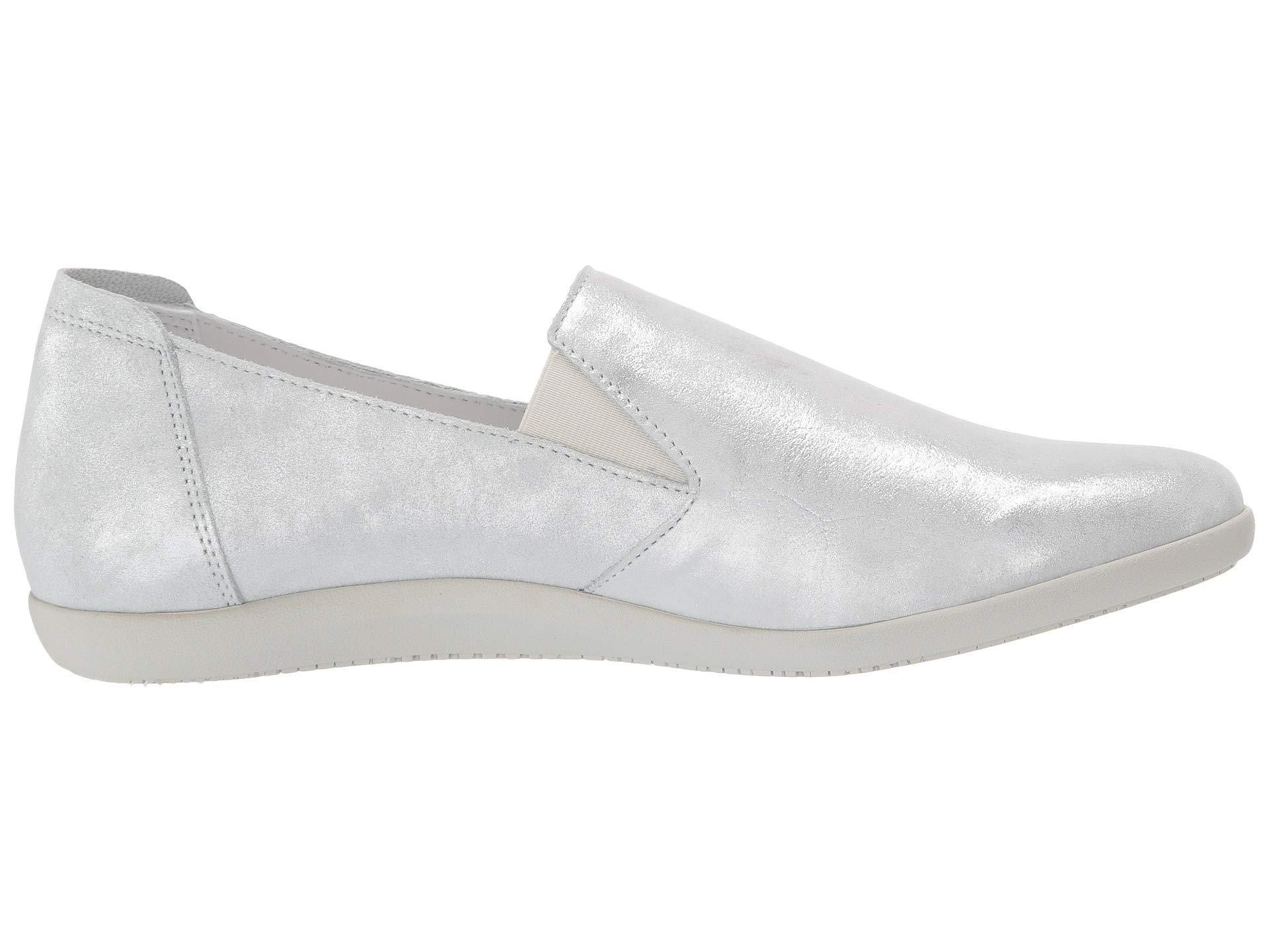 ef9a522a67a Lyst - Mephisto Korie (navy Silk) Women's Shoes in Metallic