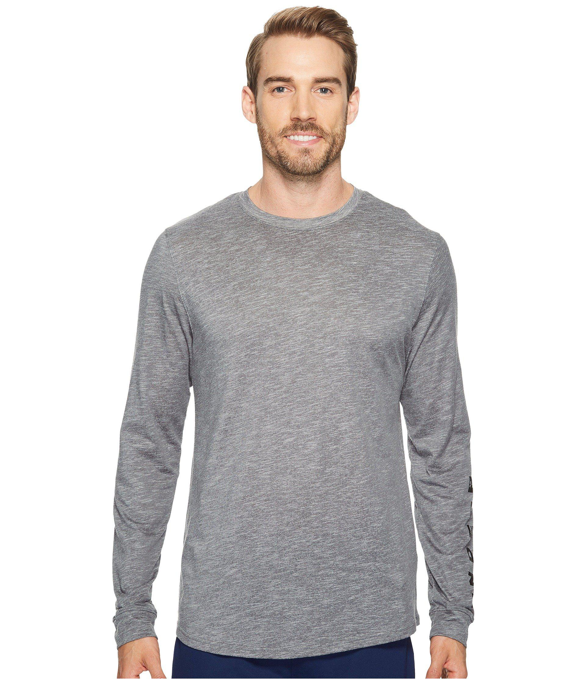Under Armour. Men's Gray Sportstyle Long Sleeve Graphic Tee