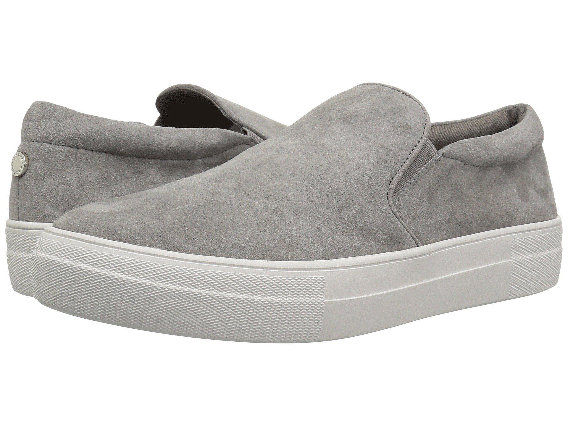 d496c03c39c Lyst - Steve Madden Gills Sneaker (navy Suede) Women s Shoes in Gray