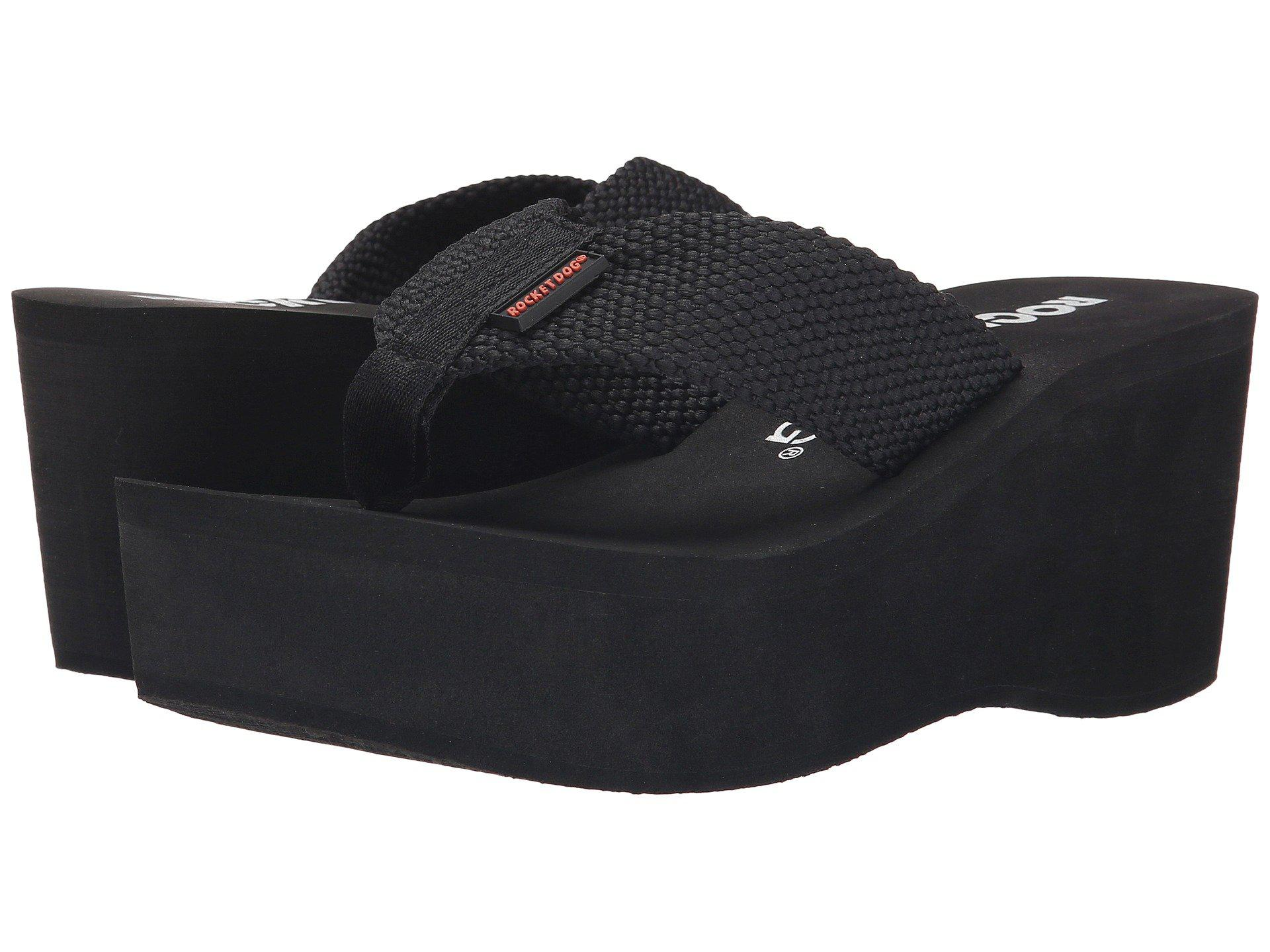 Rocket Dog Crush Black 001 Women S Sandals In Black Lyst