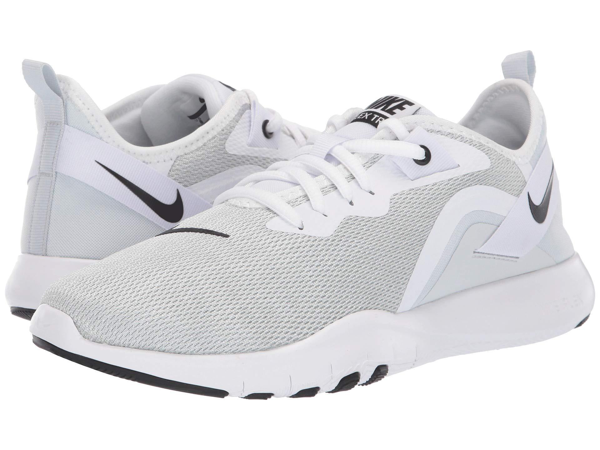 f6f96f39bc26 Nike. Flex Tr 9 (white black pure Platinum) Women s Cross Training Shoes