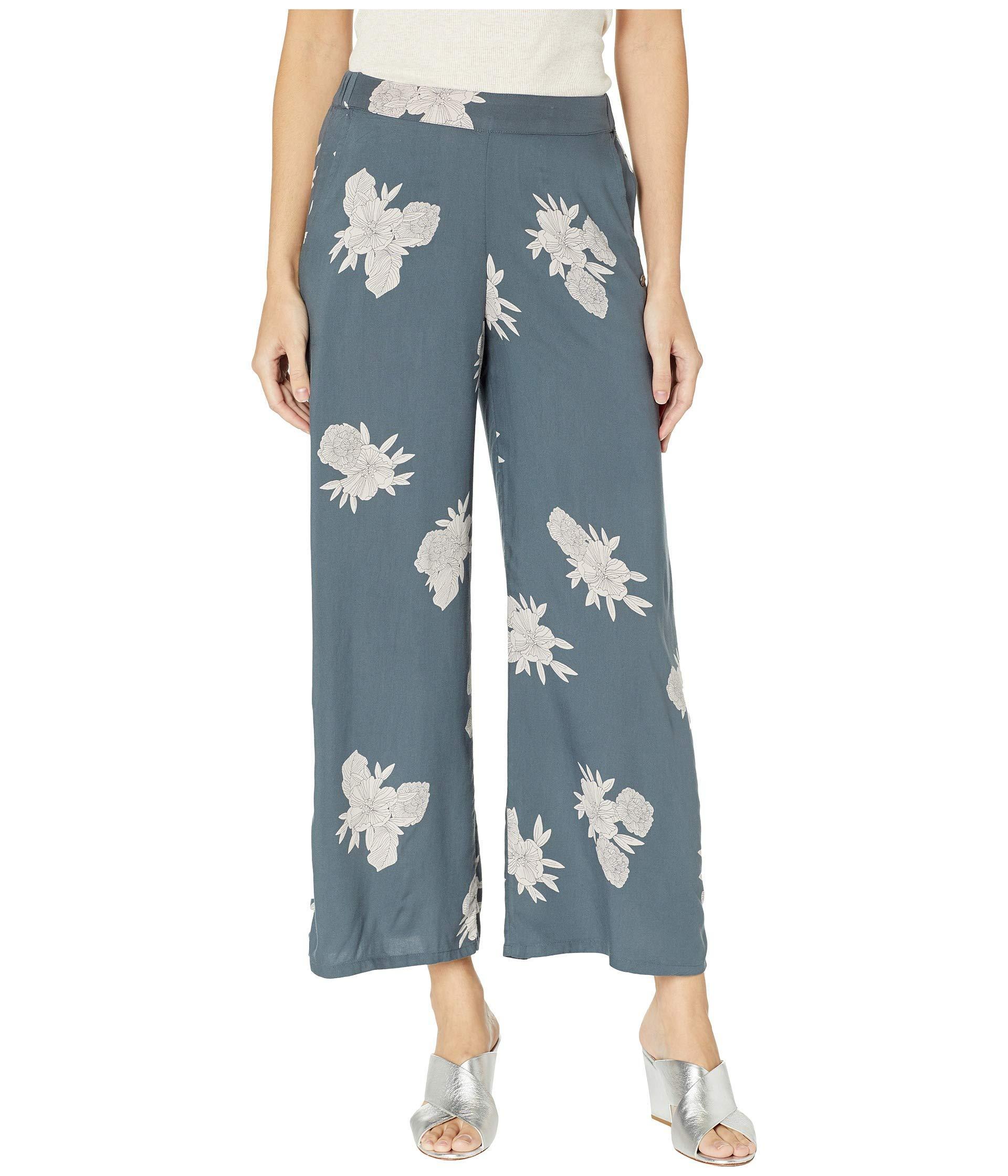 50c11ad9d8b3 Lyst - Roxy Midnight Avenue Pants (turbulence Rose pearls) Women s ...