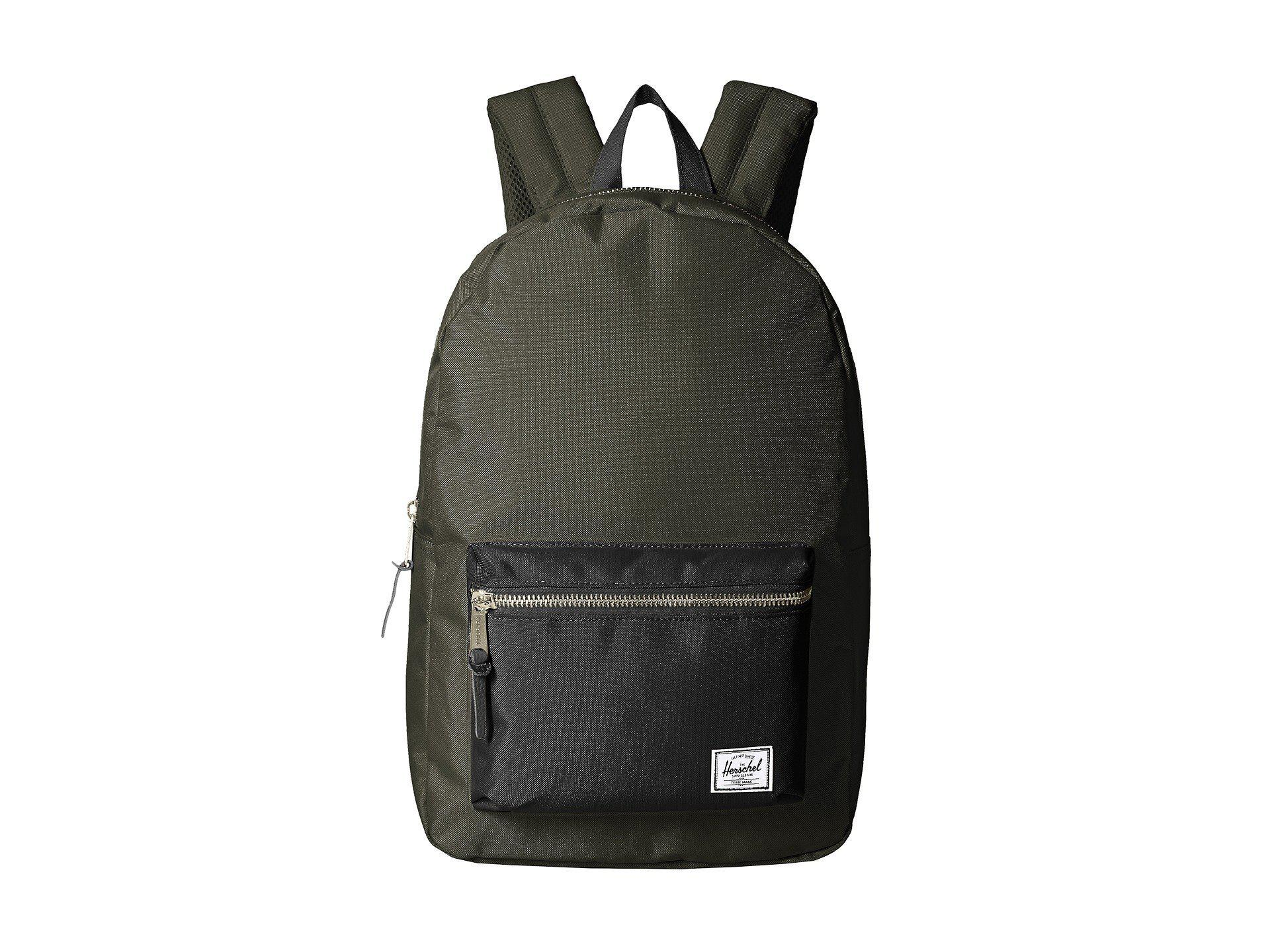 Lyst - Herschel Supply Co. Settlement (navy) Backpack Bags in Black ... fe9a297650241